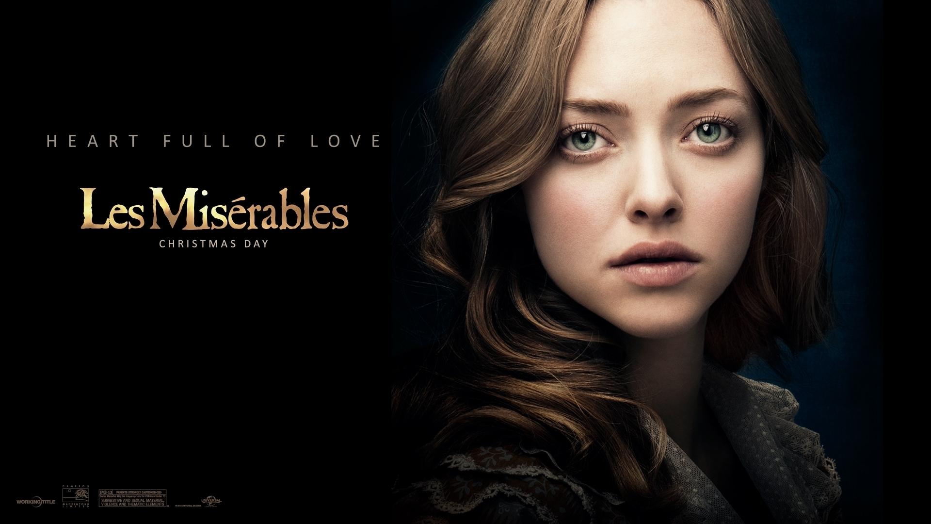 Amanda Seyfried In Les Miserables Hd Wallpaper