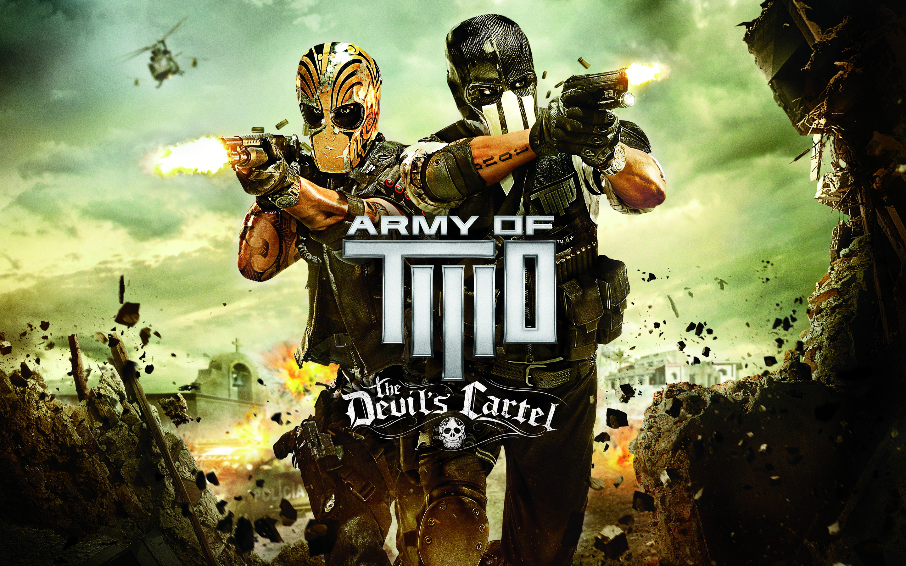 Army of Two The Devils Cartel 2013 wallpaper