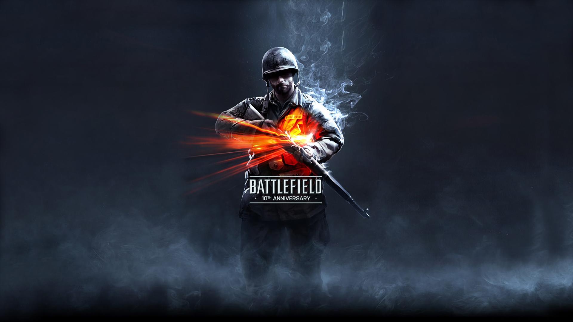 Battlefield 10th Anniversary Hd Wallpaper
