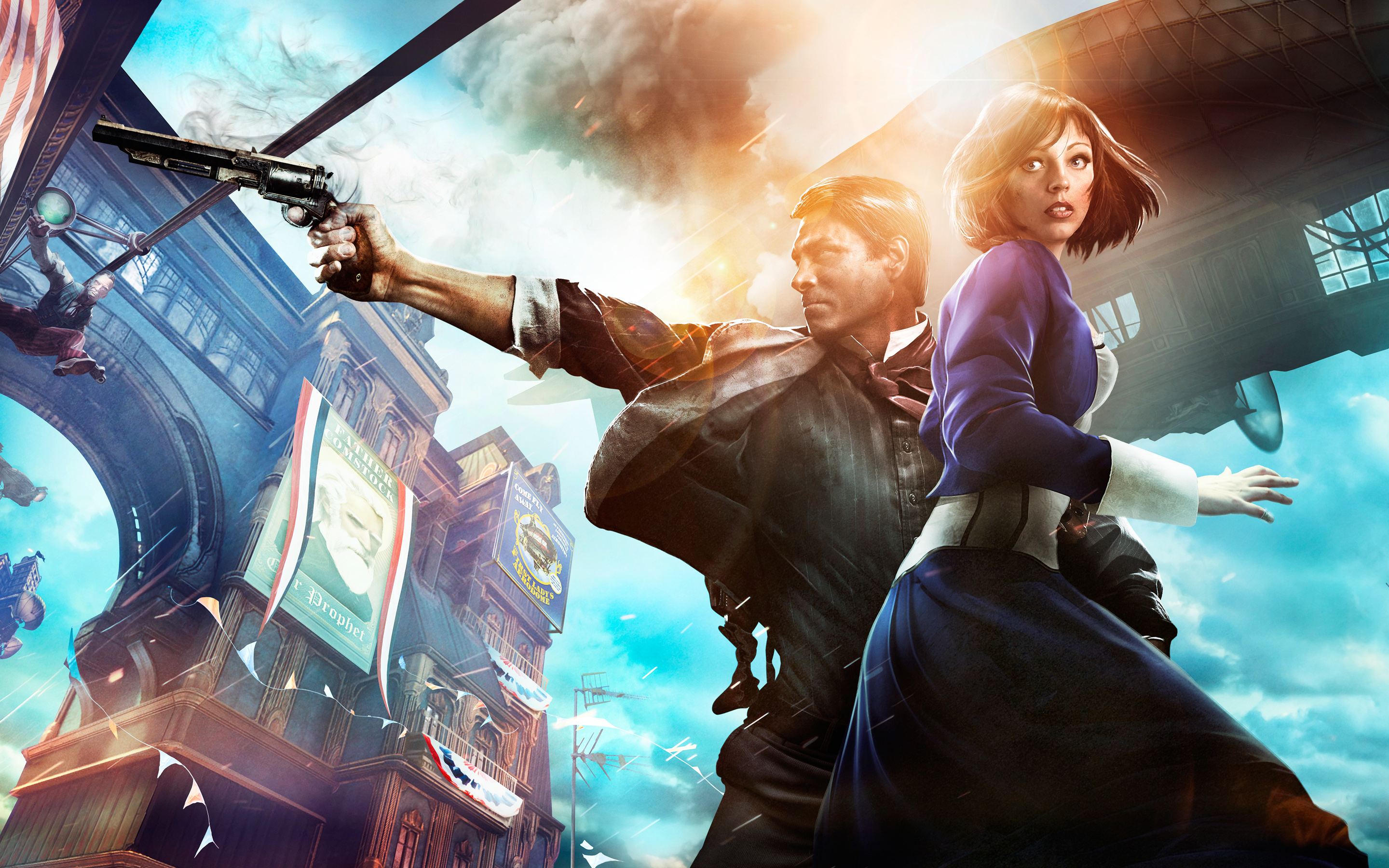 BioShock Infinite Game wallpaper