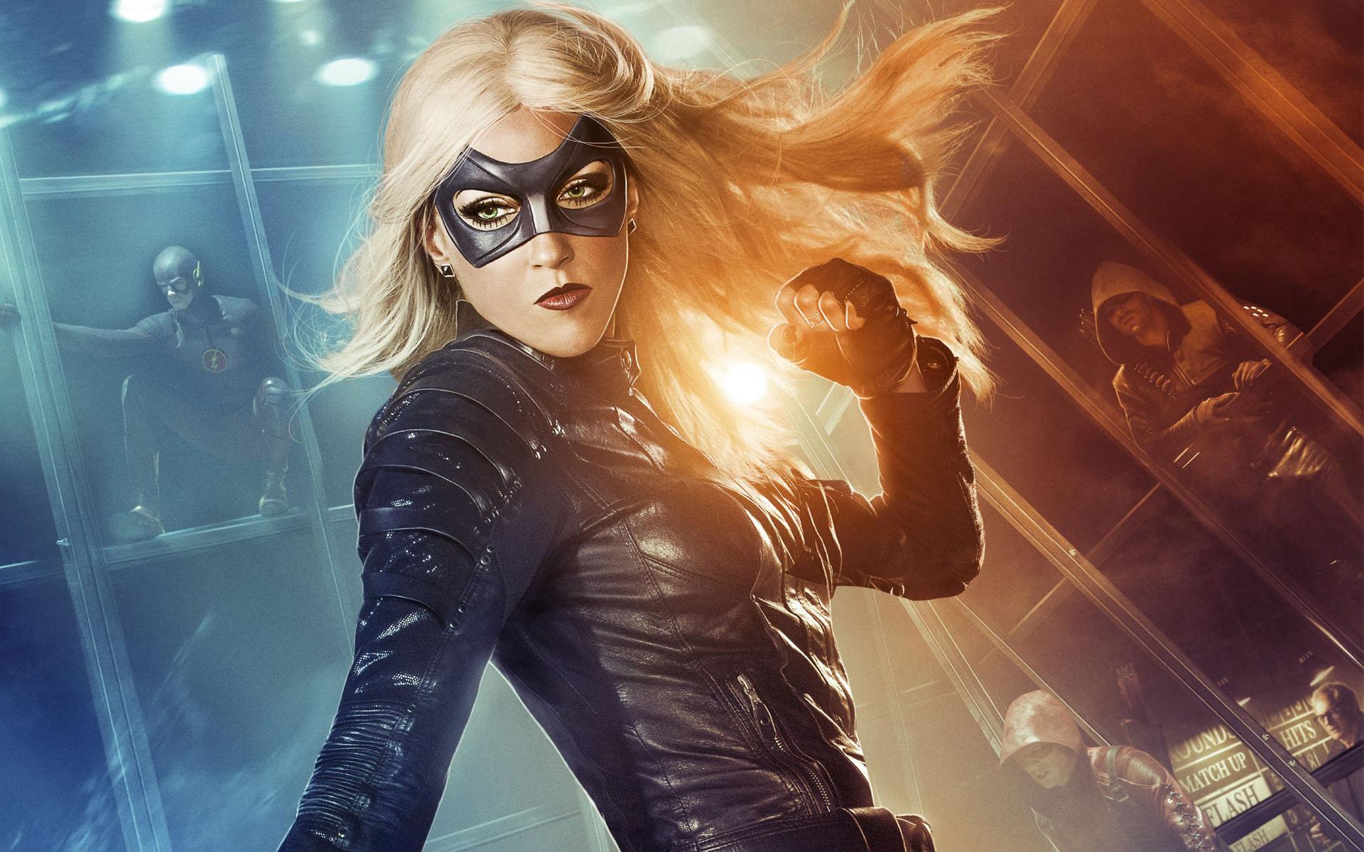 Black Canary In Arrow Hd Wallpaper