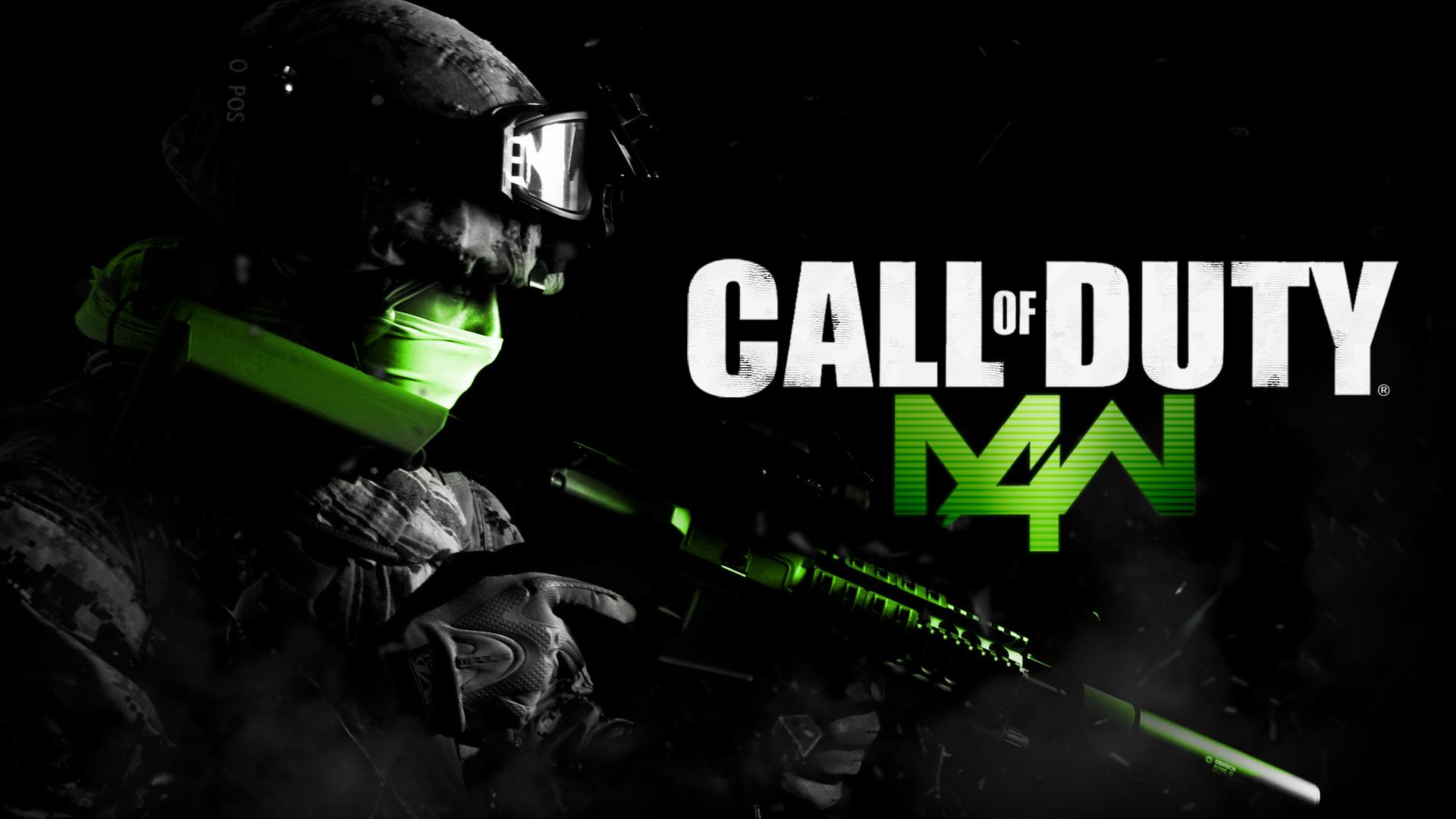 Call Of Duty Modern Warfare Game Hd Wallpaper