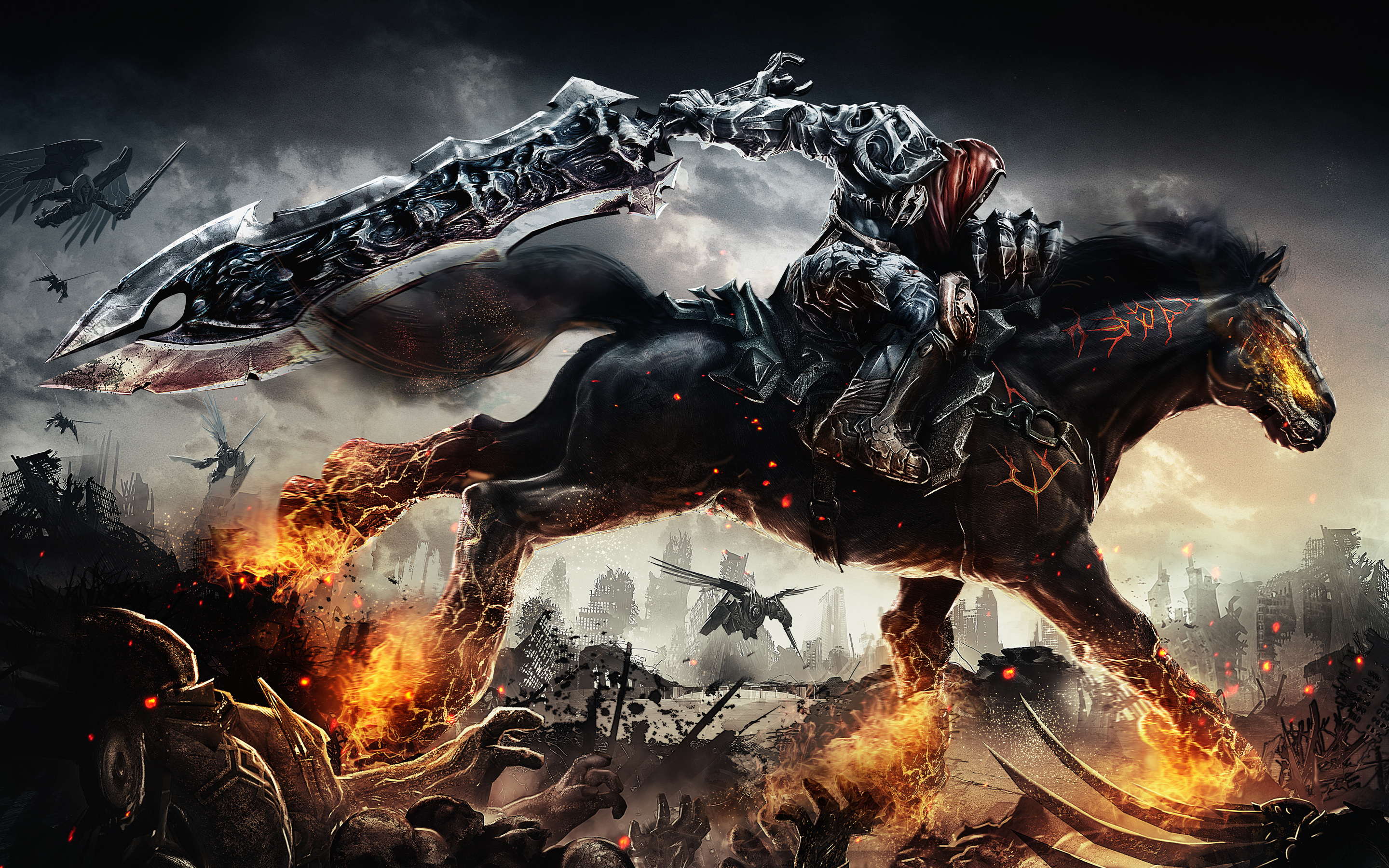 Darksiders 4k Wallpapers For Your Desktop Or Mobile Screen Free And Easy To Download