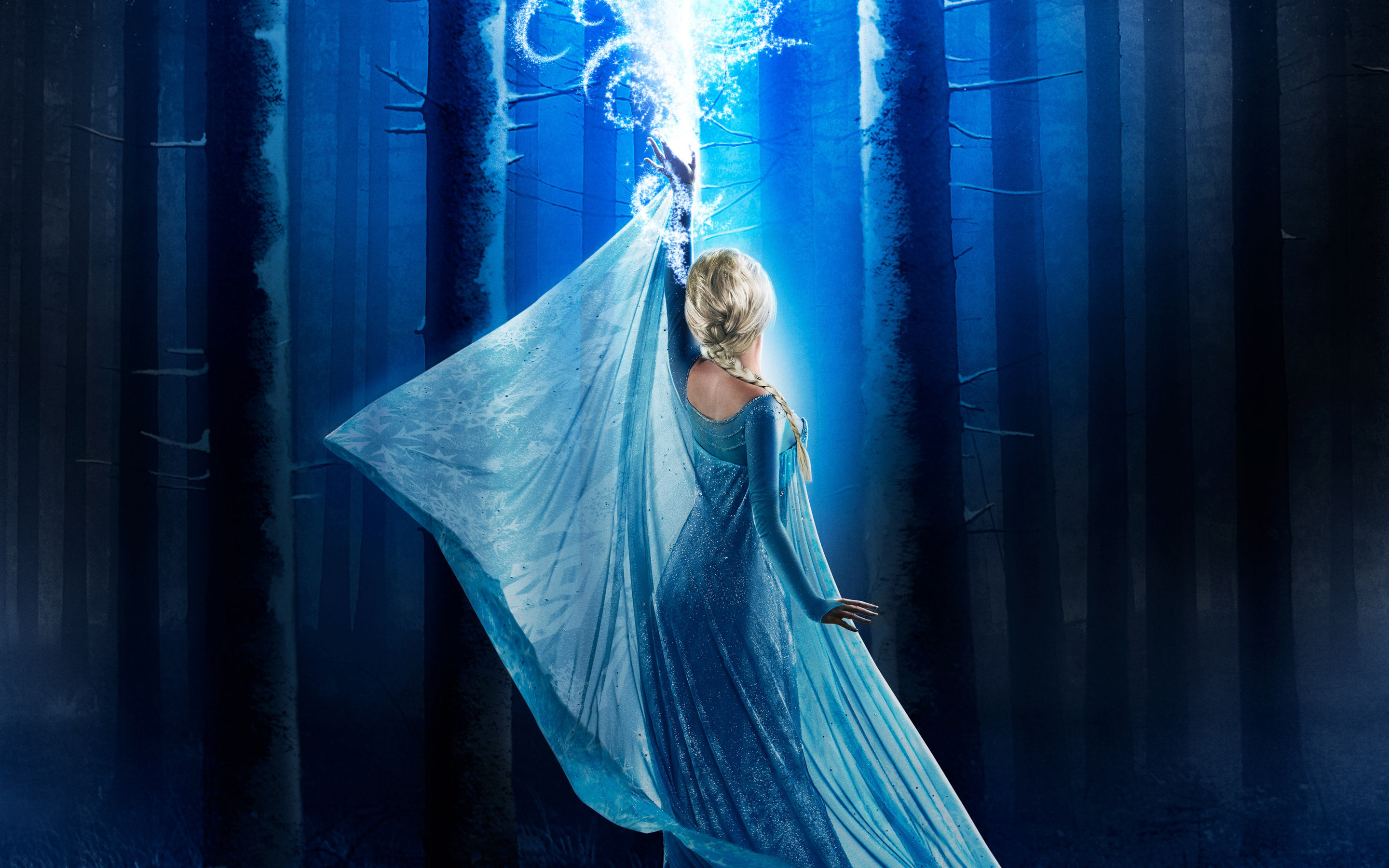 Elsa in Once Upon a Time Season 4 wallpaper