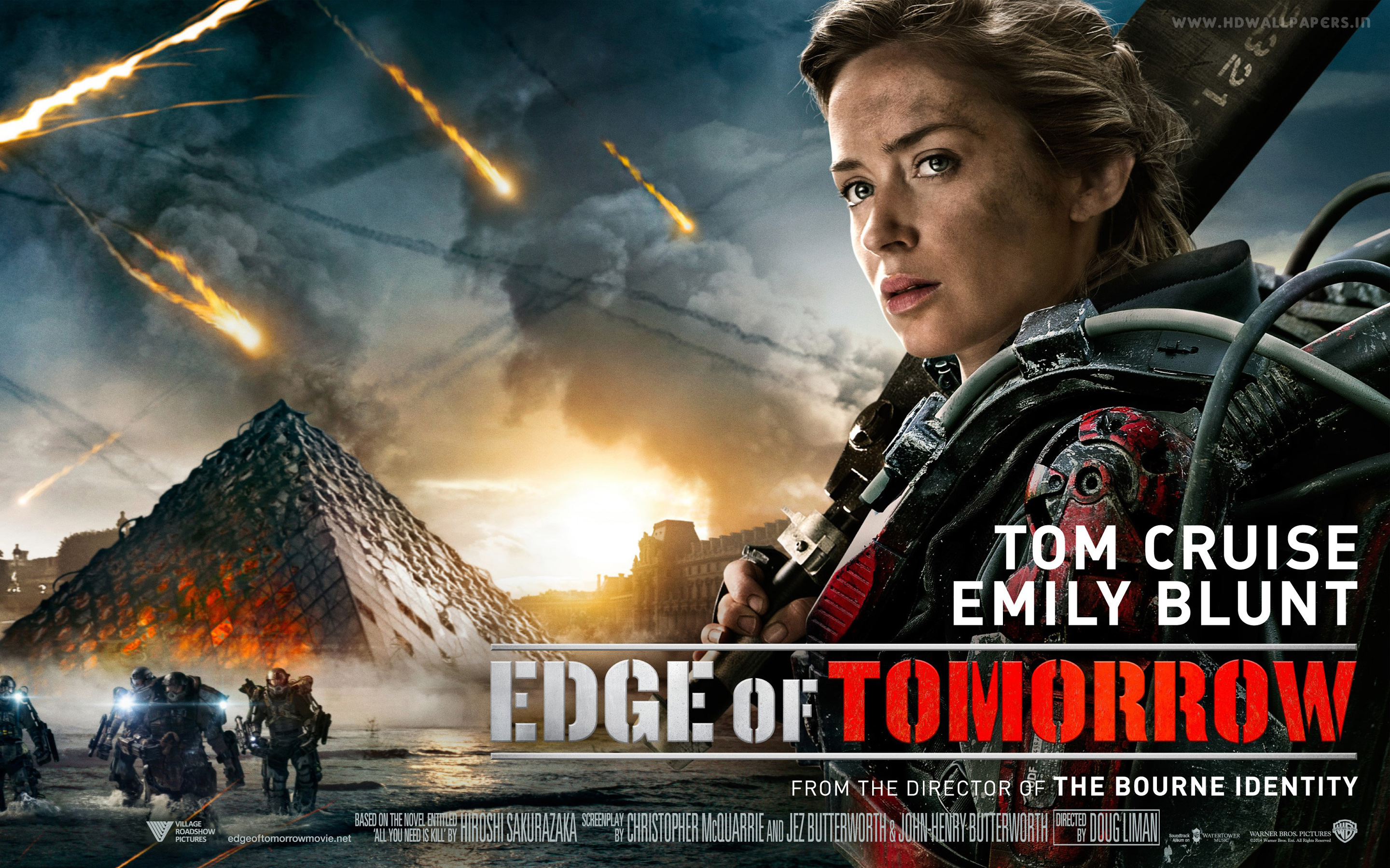 Emily Blunt In Edge Of Tomorrow Hd Wallpaper