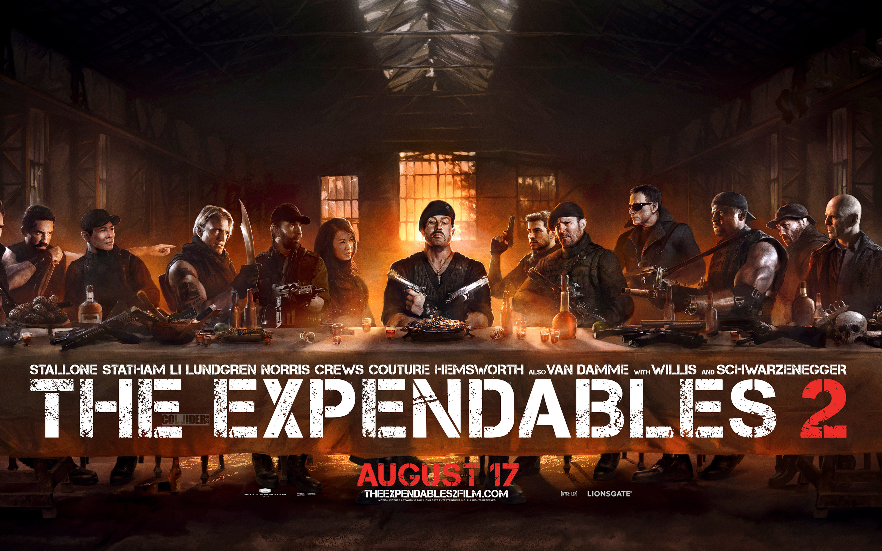 Expendables The Last Supper wallpaper