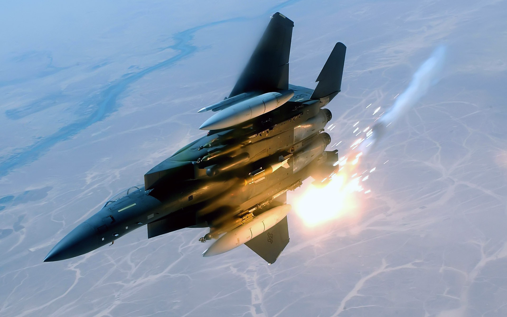 F 15E Strike Eagle Royal Air Force England wallpaper