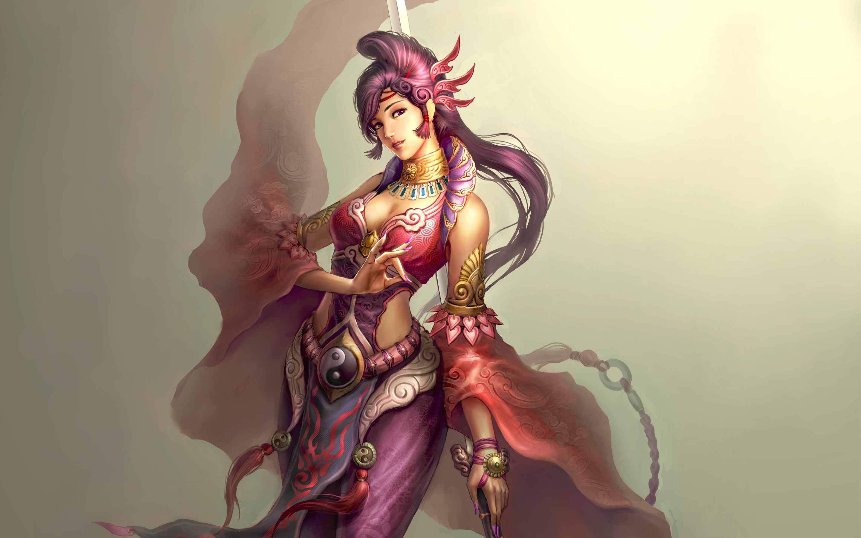 Female Taoist wallpaper