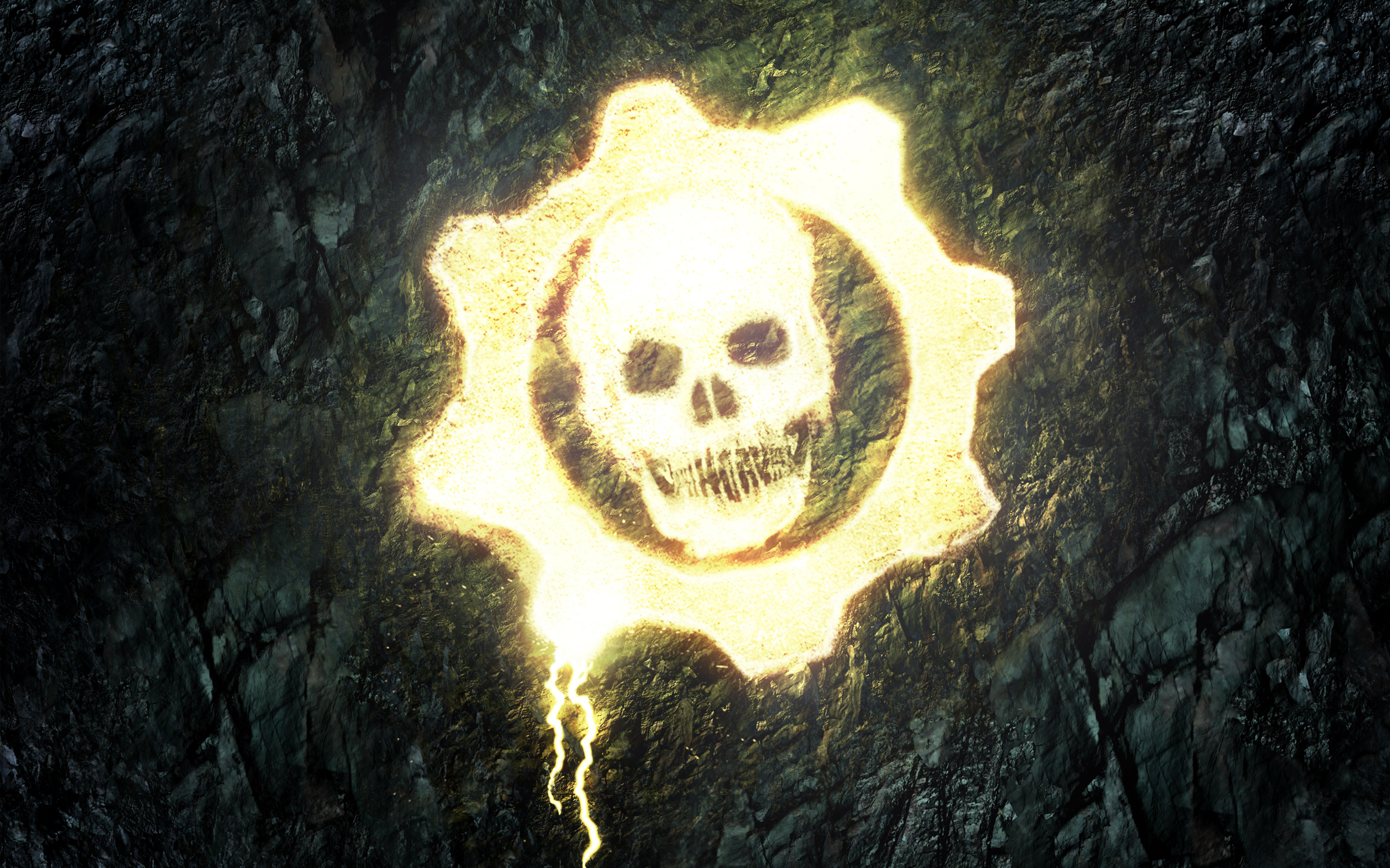 Gears of War Skull wallpaper