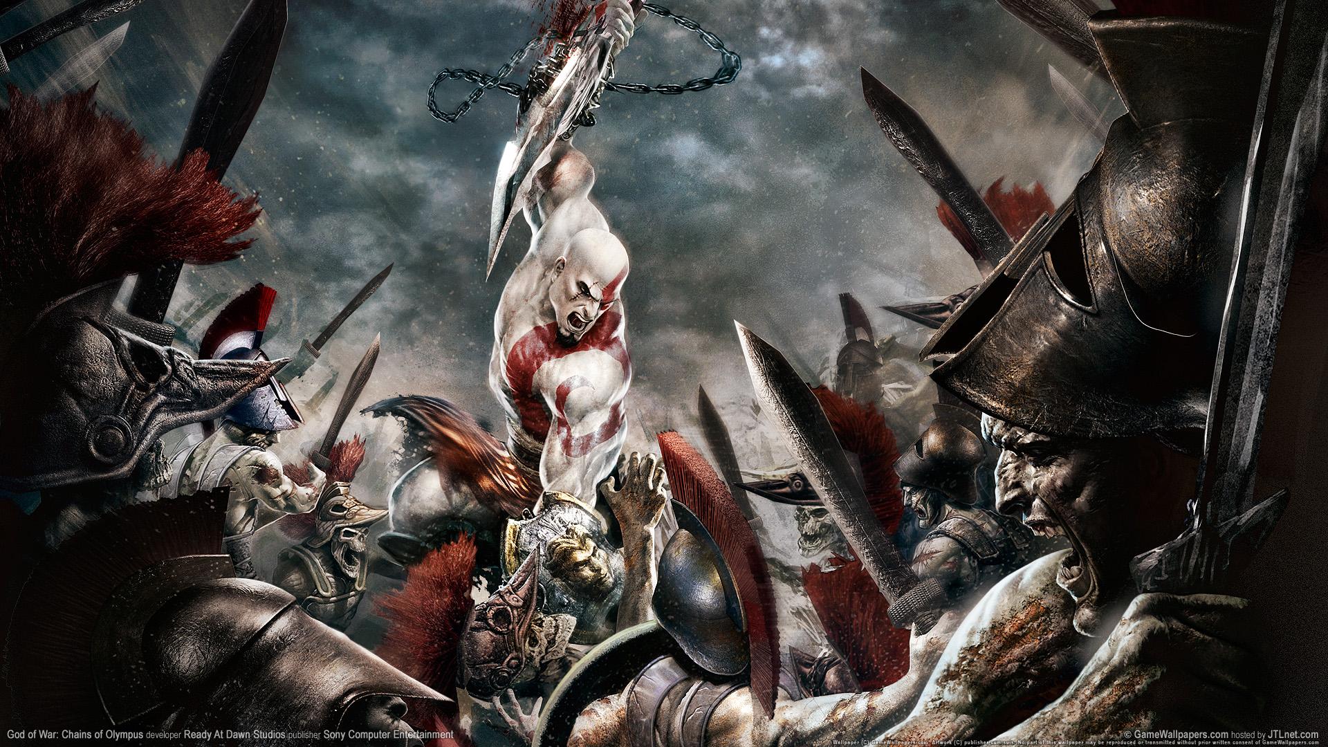 God Of War New Game Hd Wallpaper