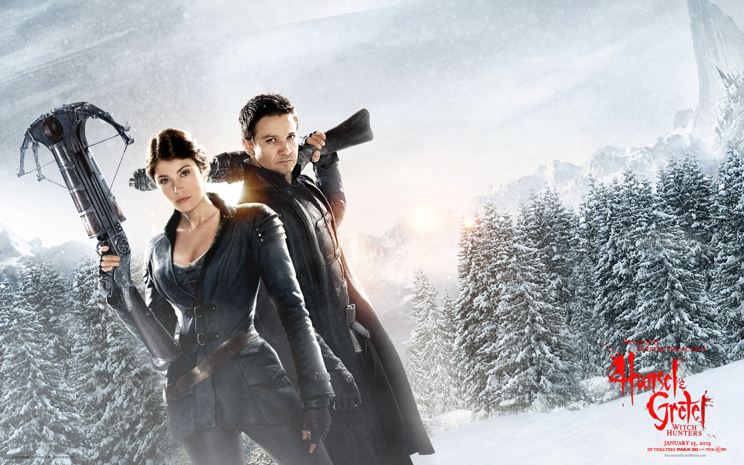 Hansel and Gretel Witch Hunters Movie 24956 wallpaper