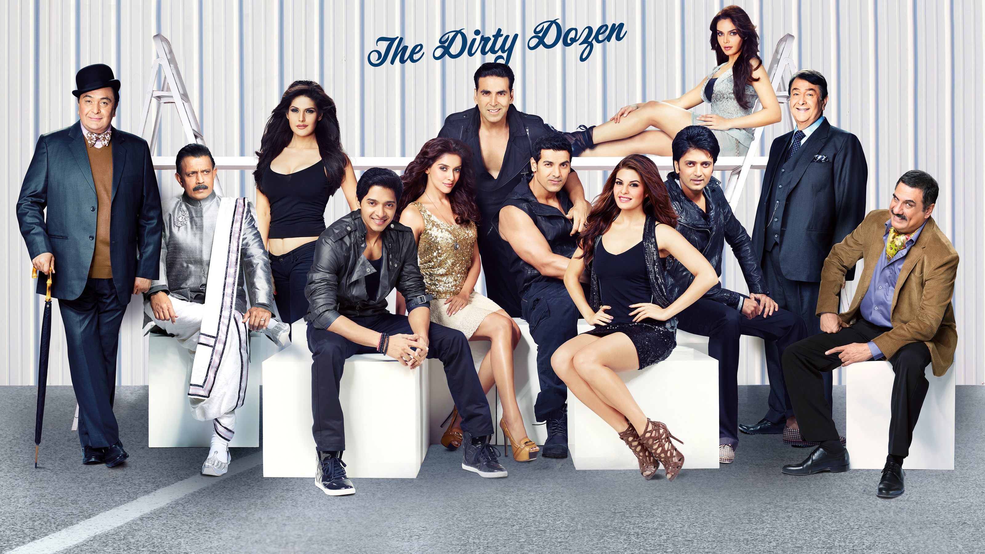 Housefull The Dirty Dozen wallpaper