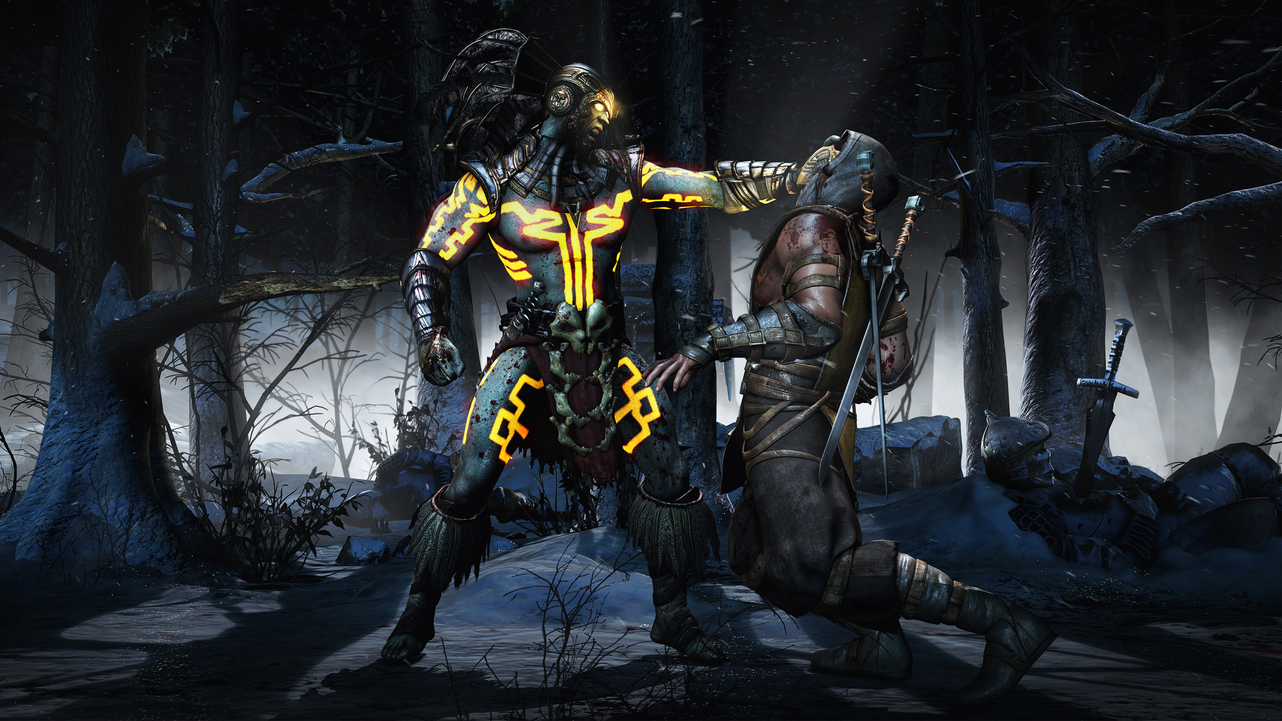 Kotal Scorpion Mortal Kombat X Hd Wallpaper