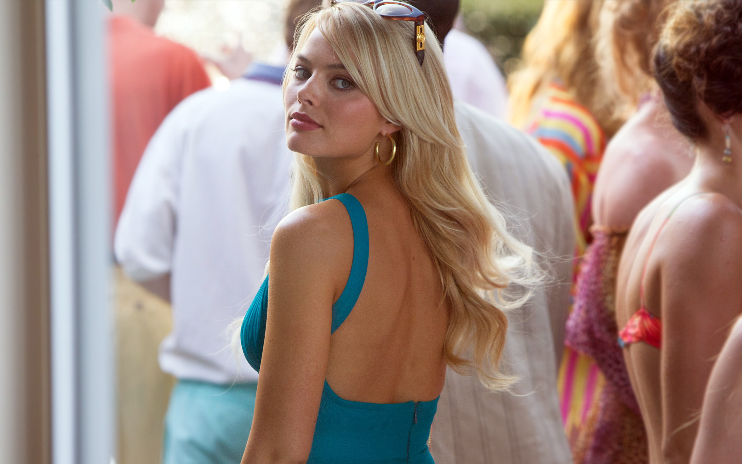 Margot Robbie The Wolf Of Wall Street Hd Wallpaper