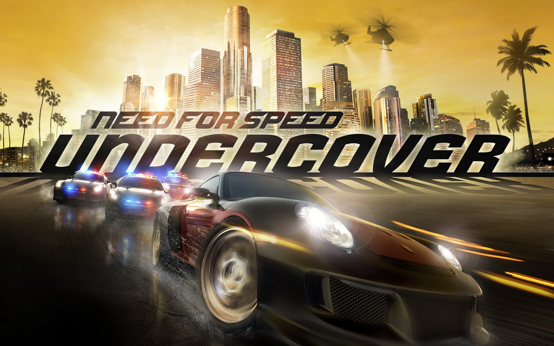 Need for Speed Undercover wallpaper