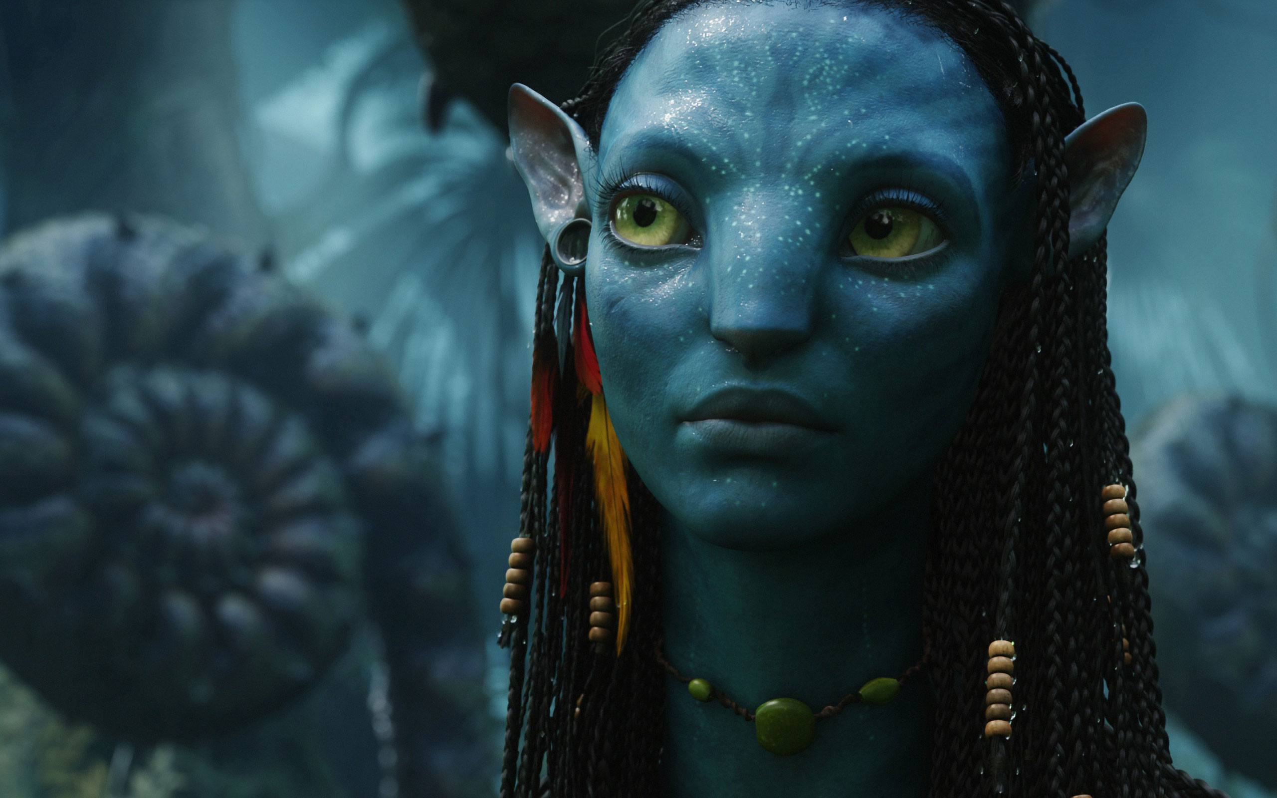 Neytiri Female in Avatar wallpaper