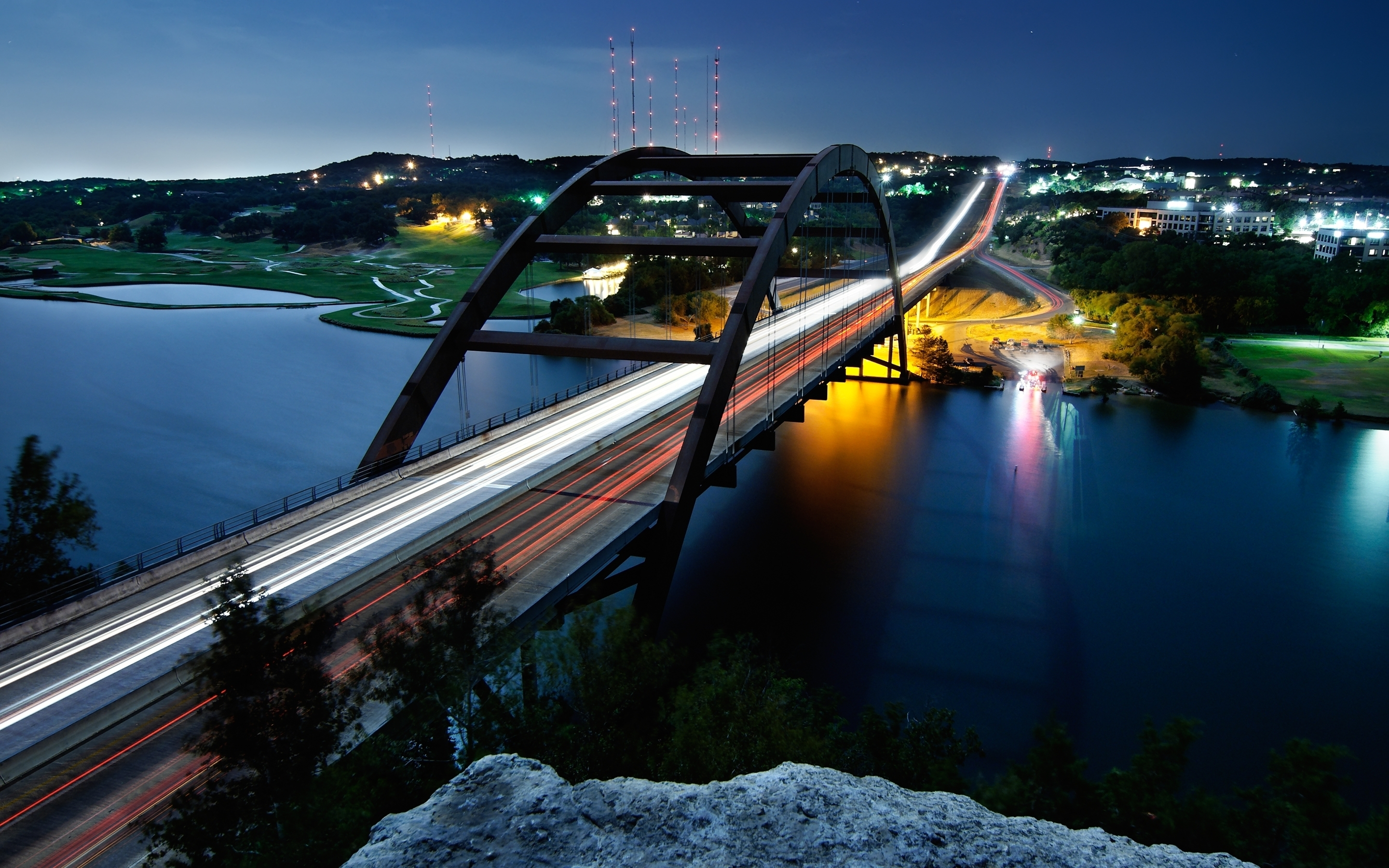 Pennybacker Bridge Austin wallpaper