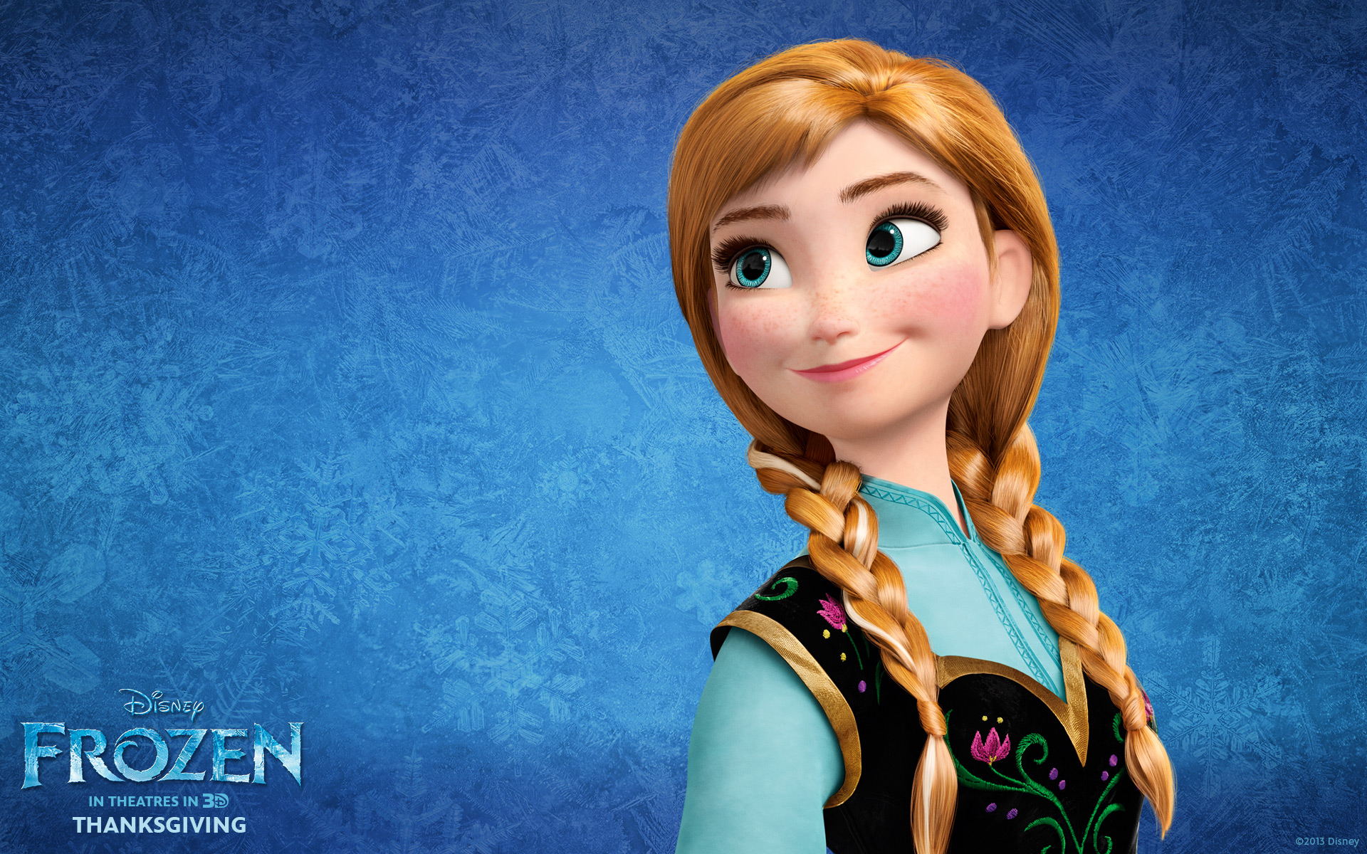 Princess Anna Frozen Hd Wallpaper
