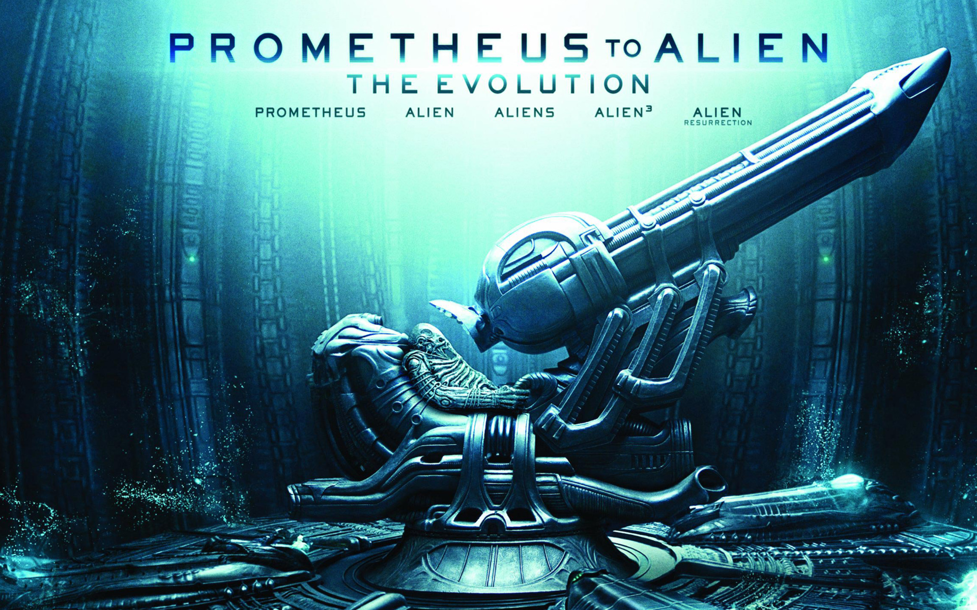 Prometheus to Alien The Evolution wallpaper