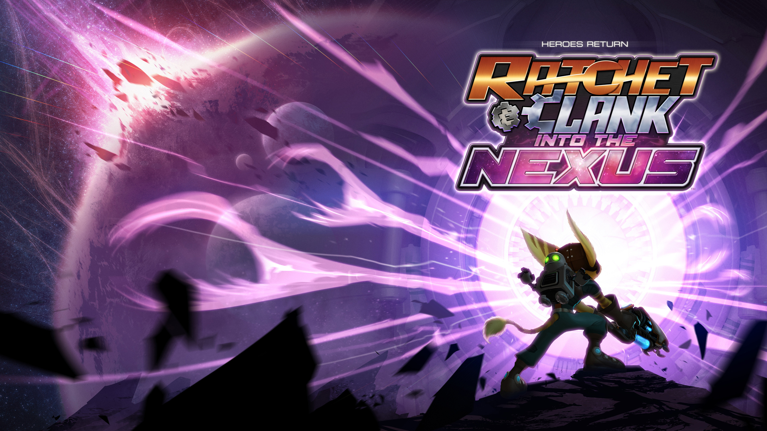 Ratchet And Clank Into The Nexus Game Hd Wallpaper
