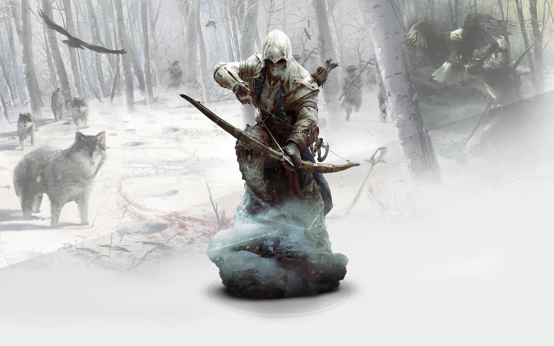 Ratonhnhaketon Assassins Creed 3 Hd Wallpaper