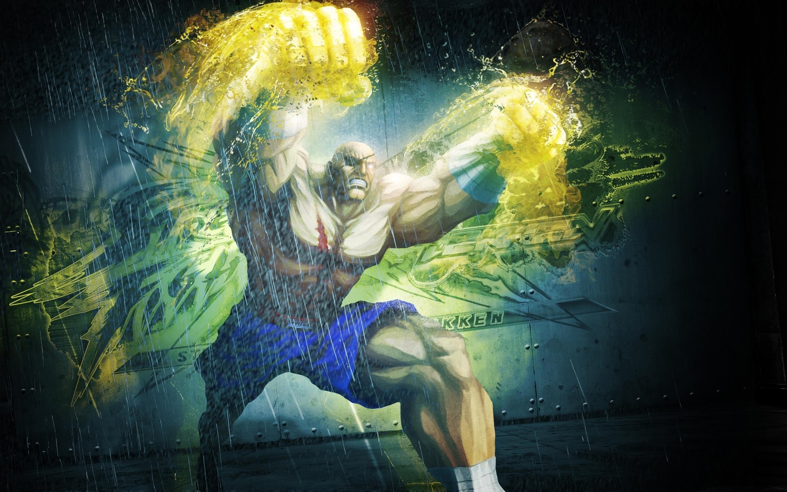 Sagat In Street Fighter Hd Wallpaper
