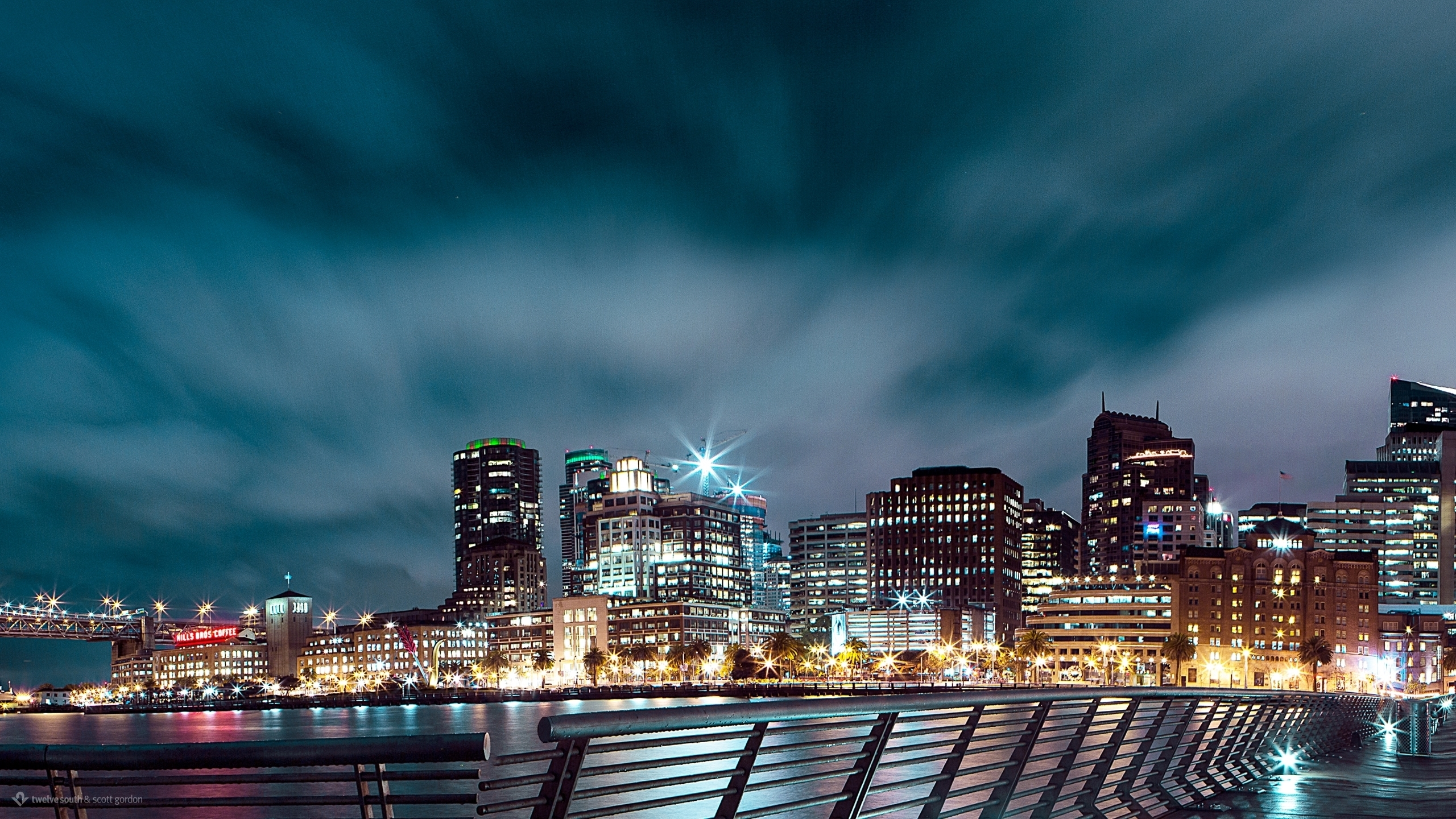 San Francisco Nightscape wallpaper