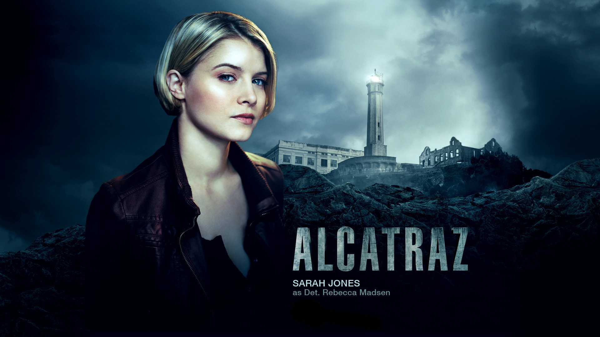 Sarah Jones in Alcatraz wallpaper