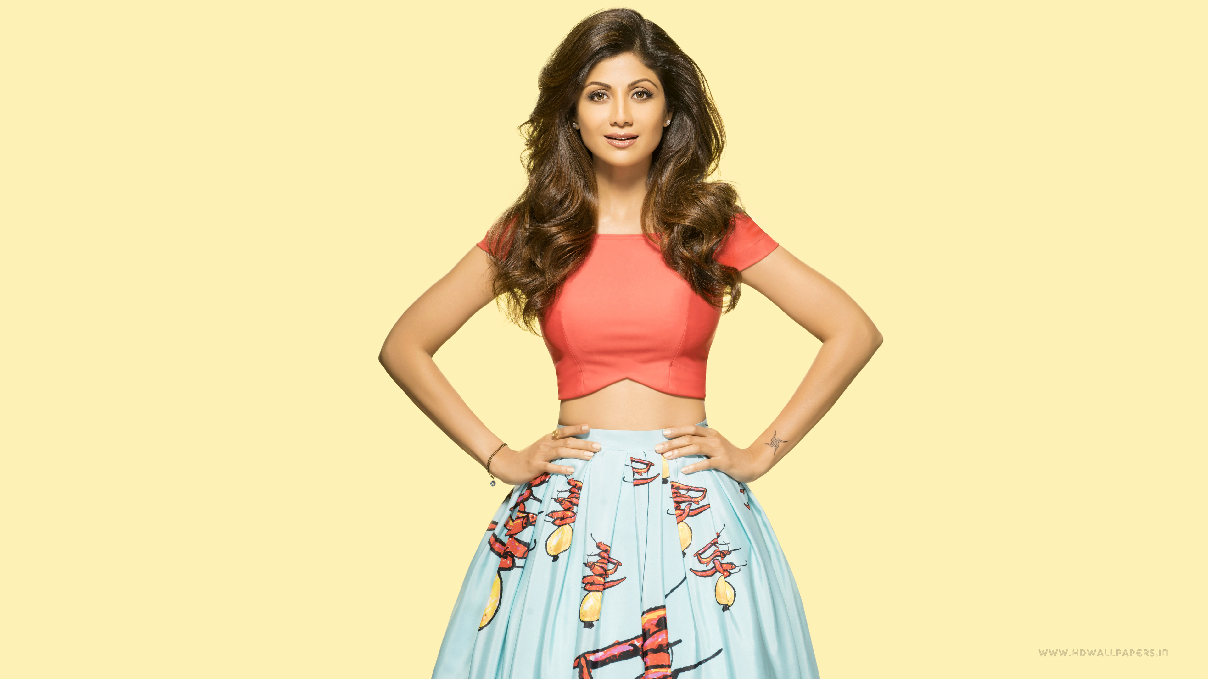 Indian Actress Shilpa Shetty 4K Wallpaper-7343
