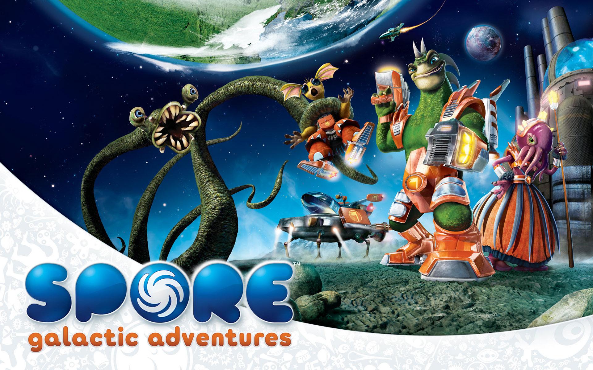 Spore galactic adventures game hd wallpaper - Spore galactic adventures wallpaper ...