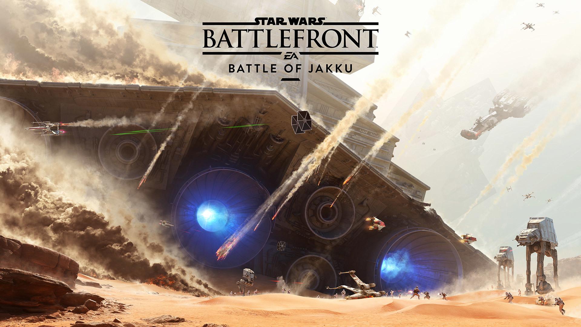 Star Wars Battlefront Battle Of Jakku Hd Wallpaper