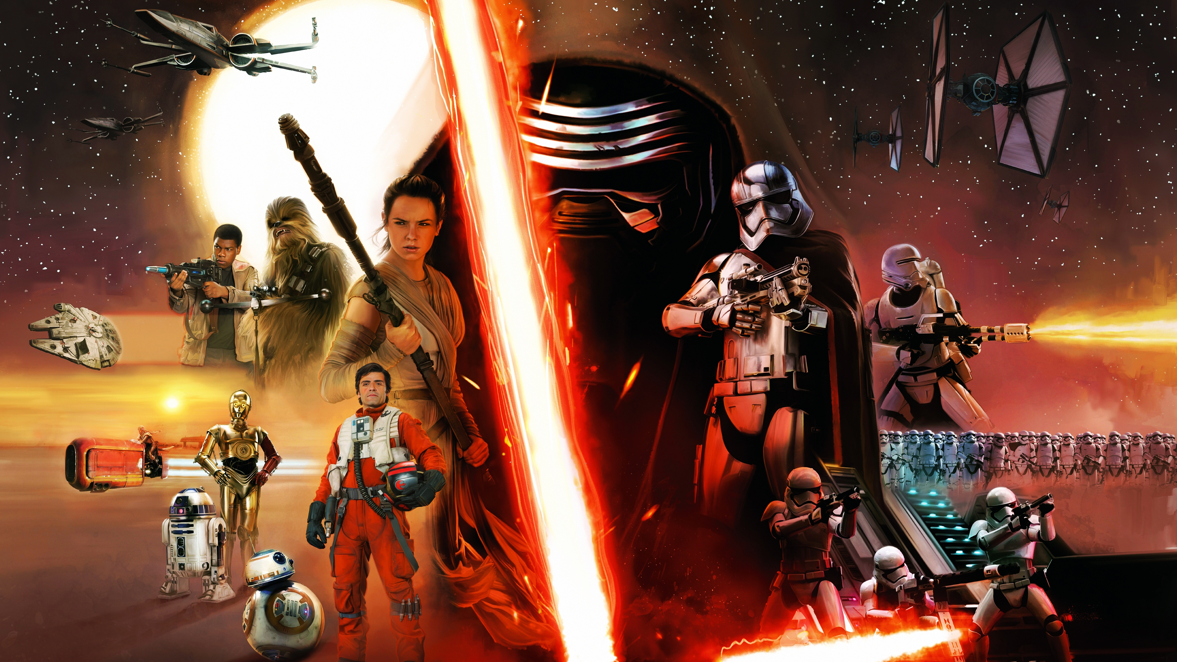 Star Wars Episode VII The Force Awakens Concept wallpaper