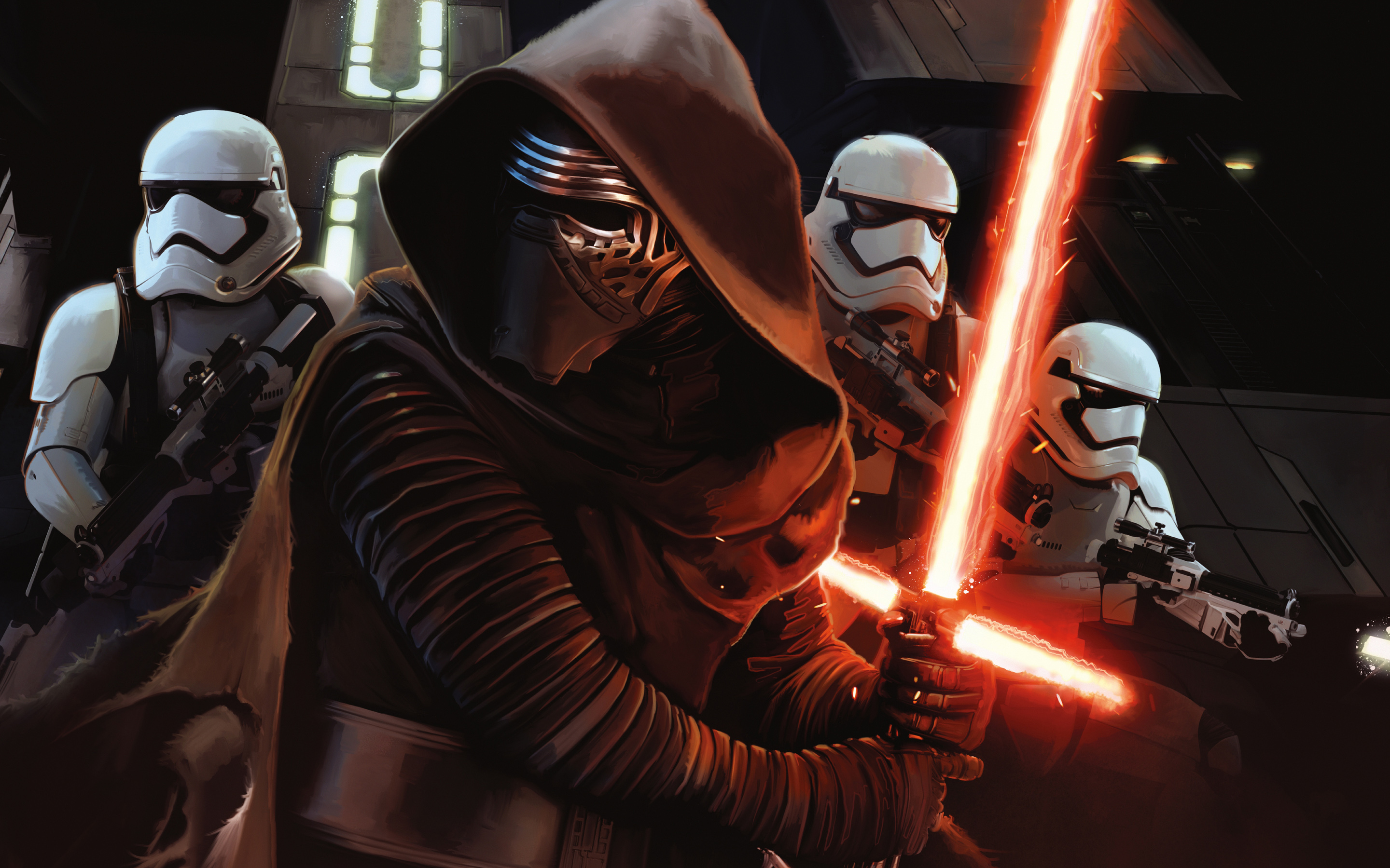 Star Wars Episode Vii The Force Awakens Hd Wallpaper