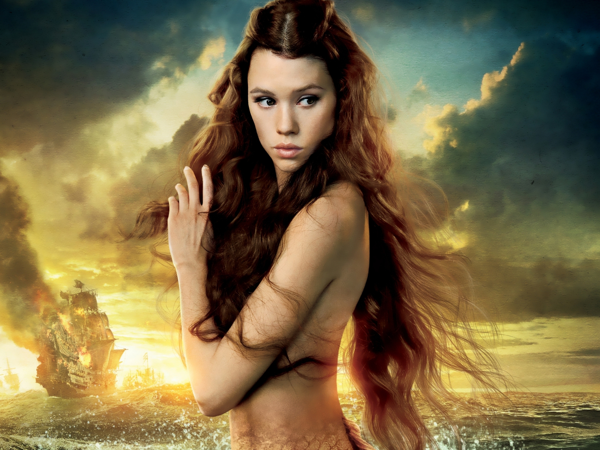 Syrena in Pirates of the Caribbean On Stranger Tides wallpaper