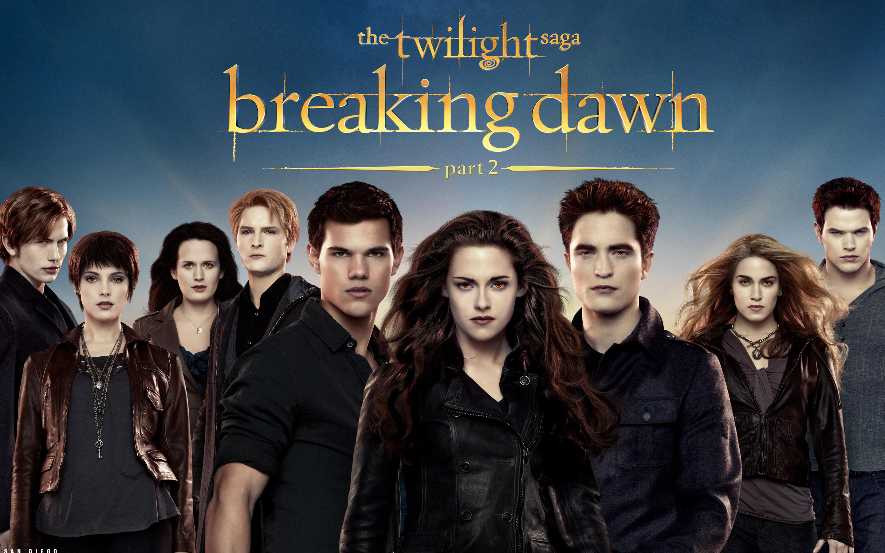 The Twilight Saga Breaking Dawn Part 2 wallpaper