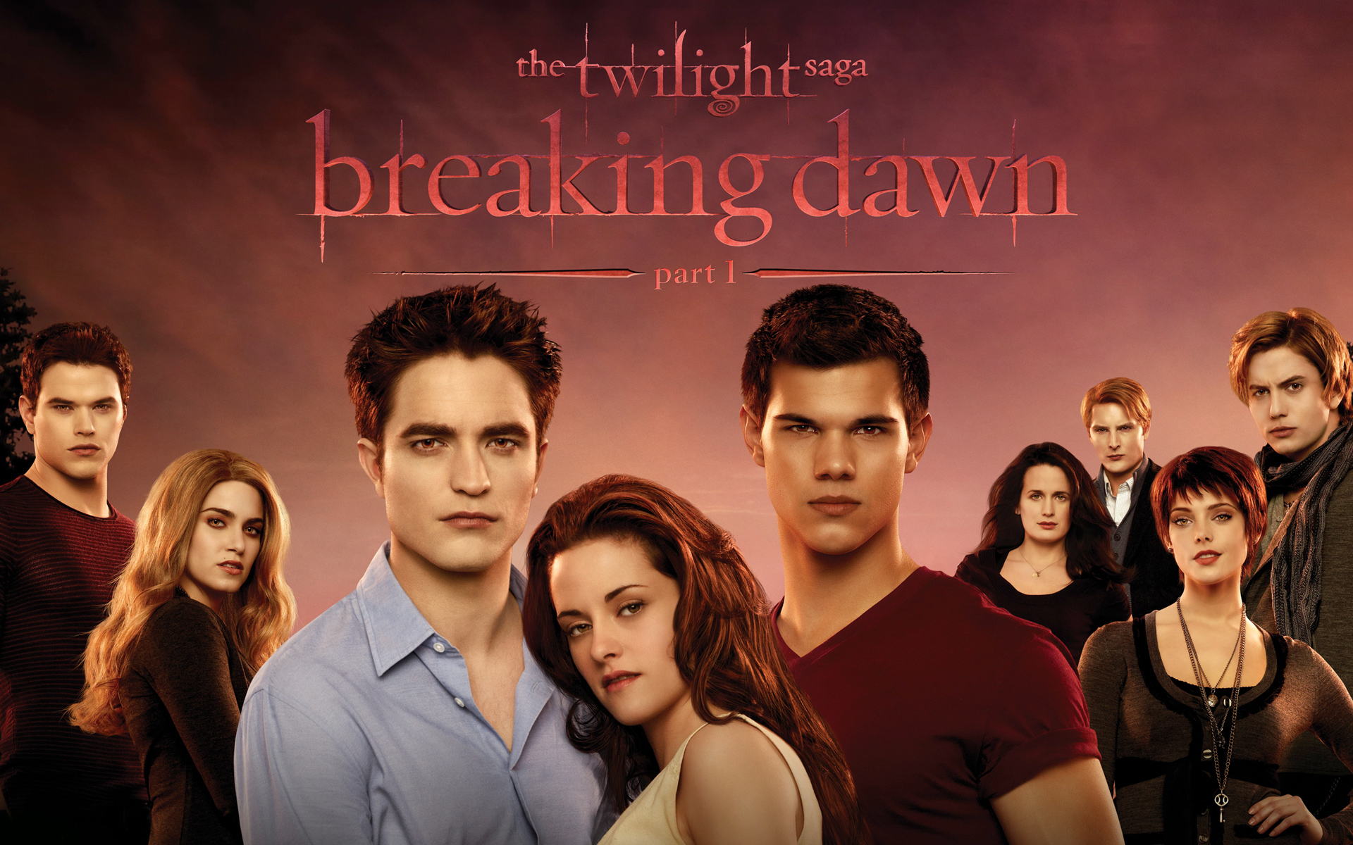 The Twilight Saga Breaking Dawn wallpaper