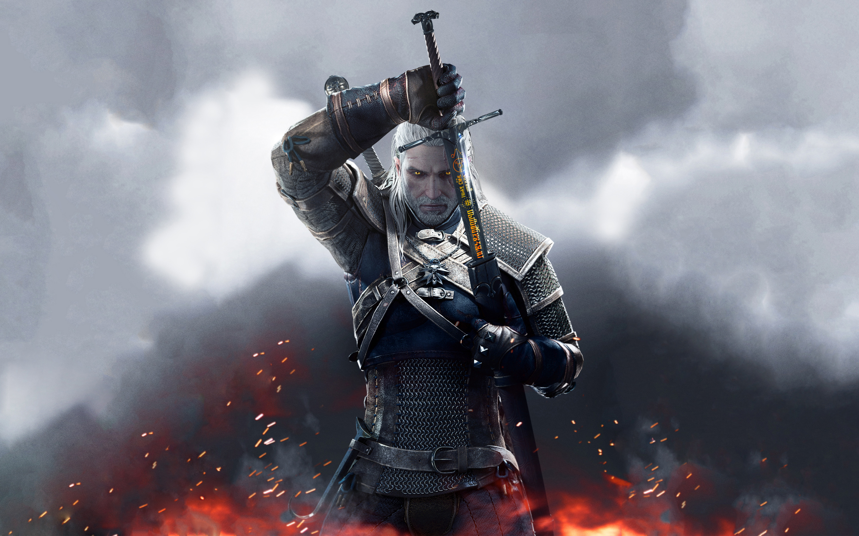 The Witcher Wild Hunt Sword of Destiny HD wallpaper
