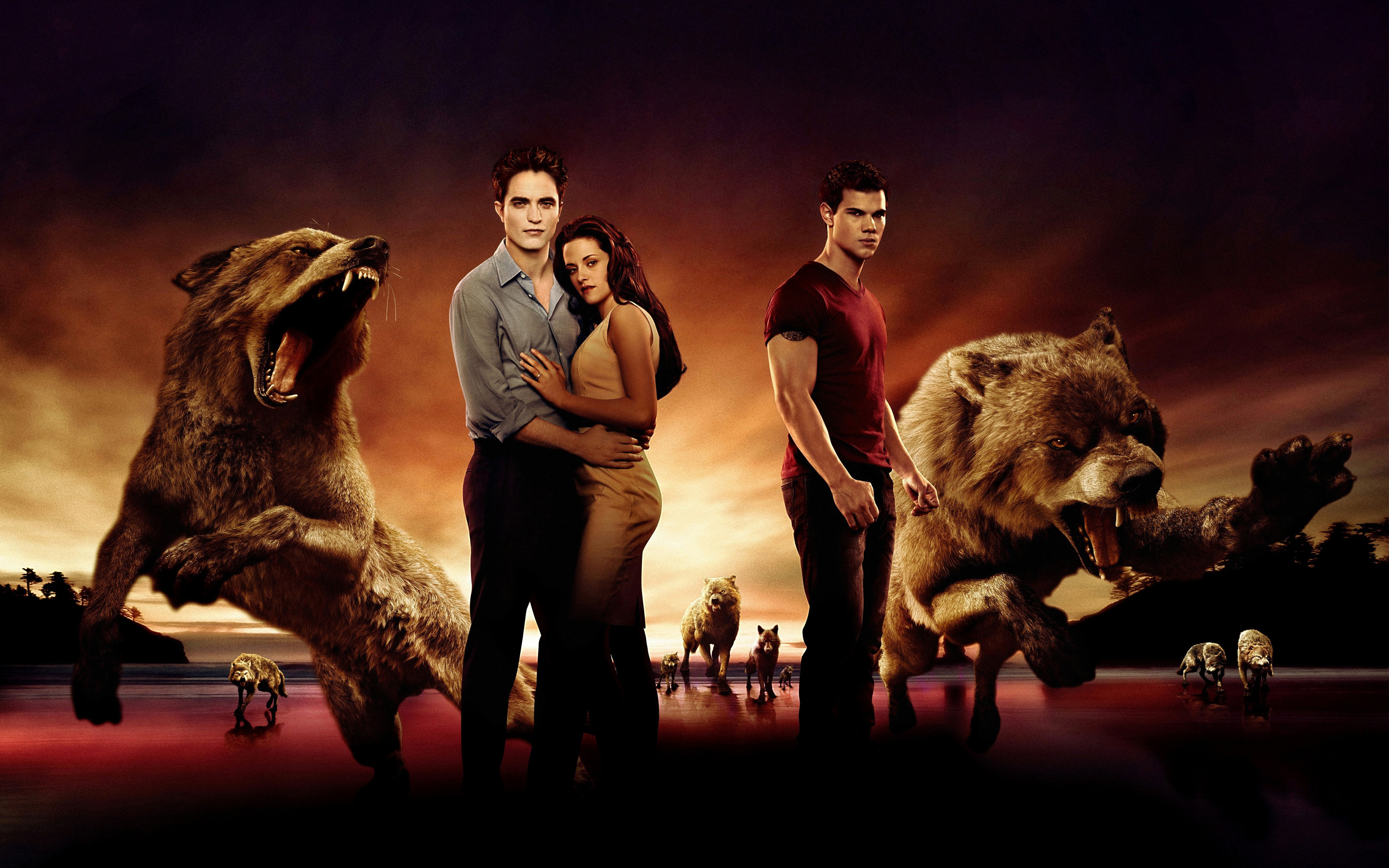 Twilight Saga Breaking Dawn Part 2012 wallpaper