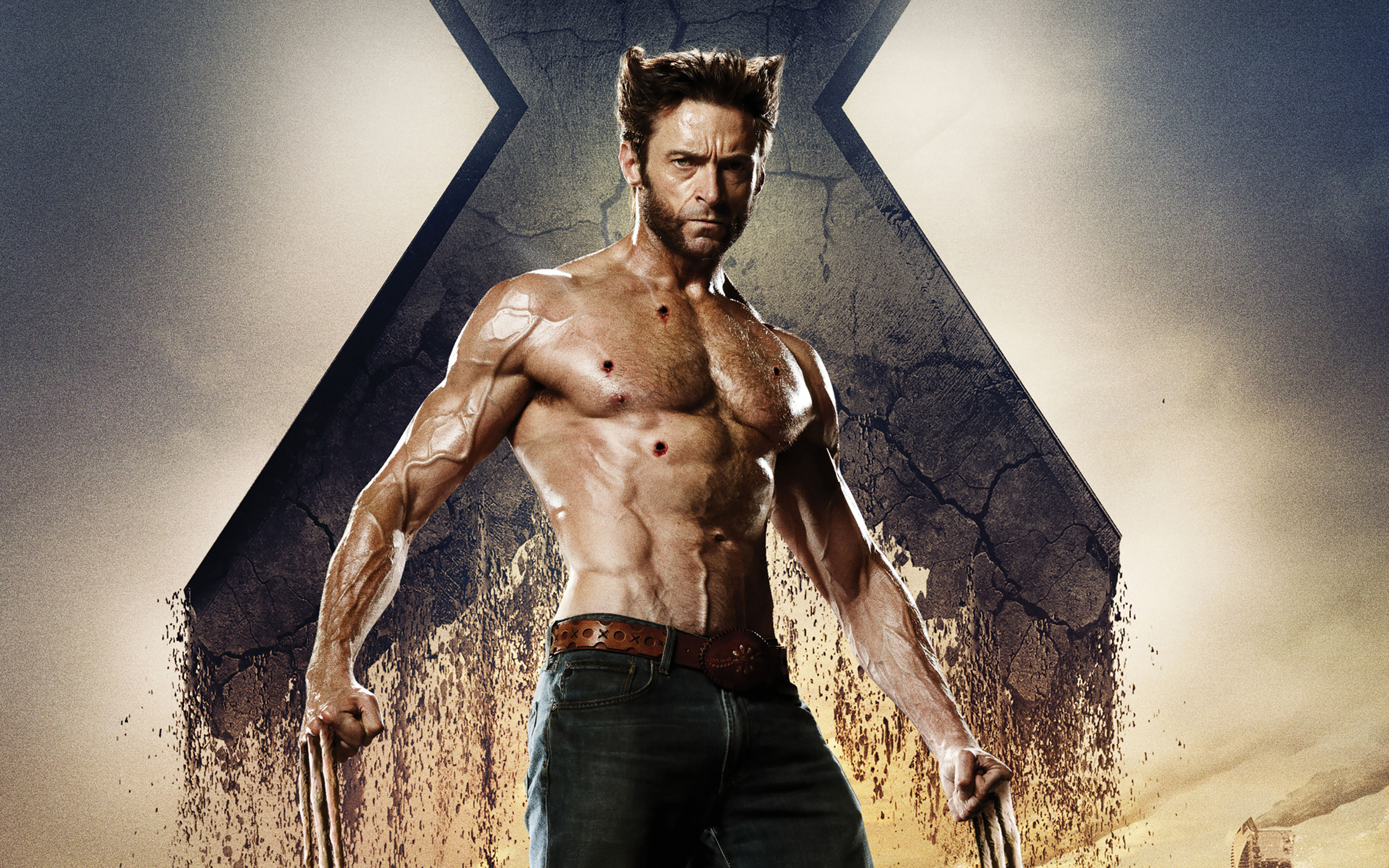 Wolverine in X Men Days of Future Past wallpaper