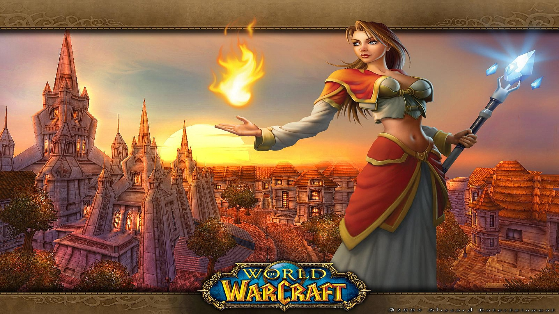 World of Warcraft Girl wallpaper