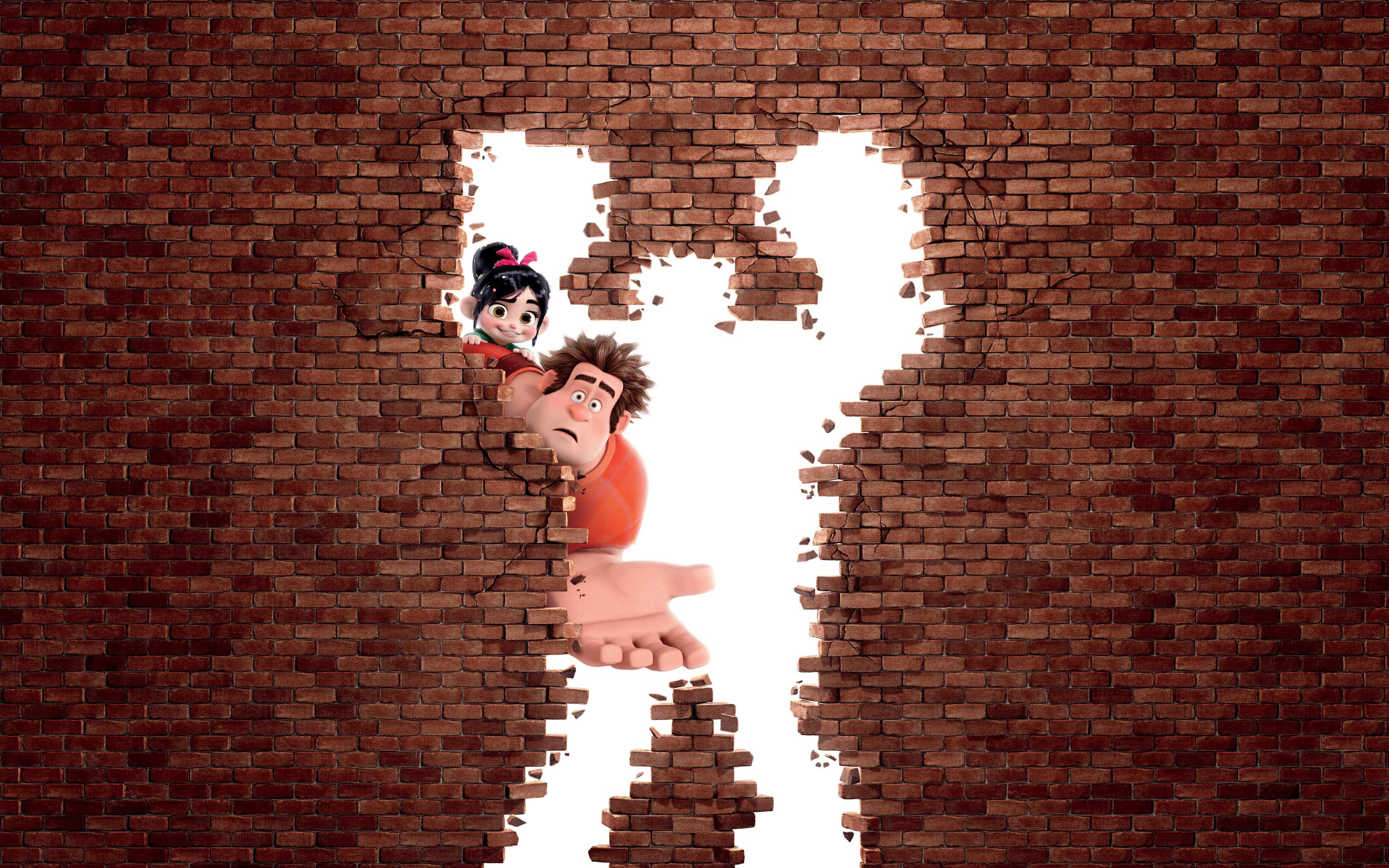 Wreck It Ralph Animation Movie 4k Hd Desktop Wallpaper For: Wreck It Ralph Animation Movie HD Wallpaper