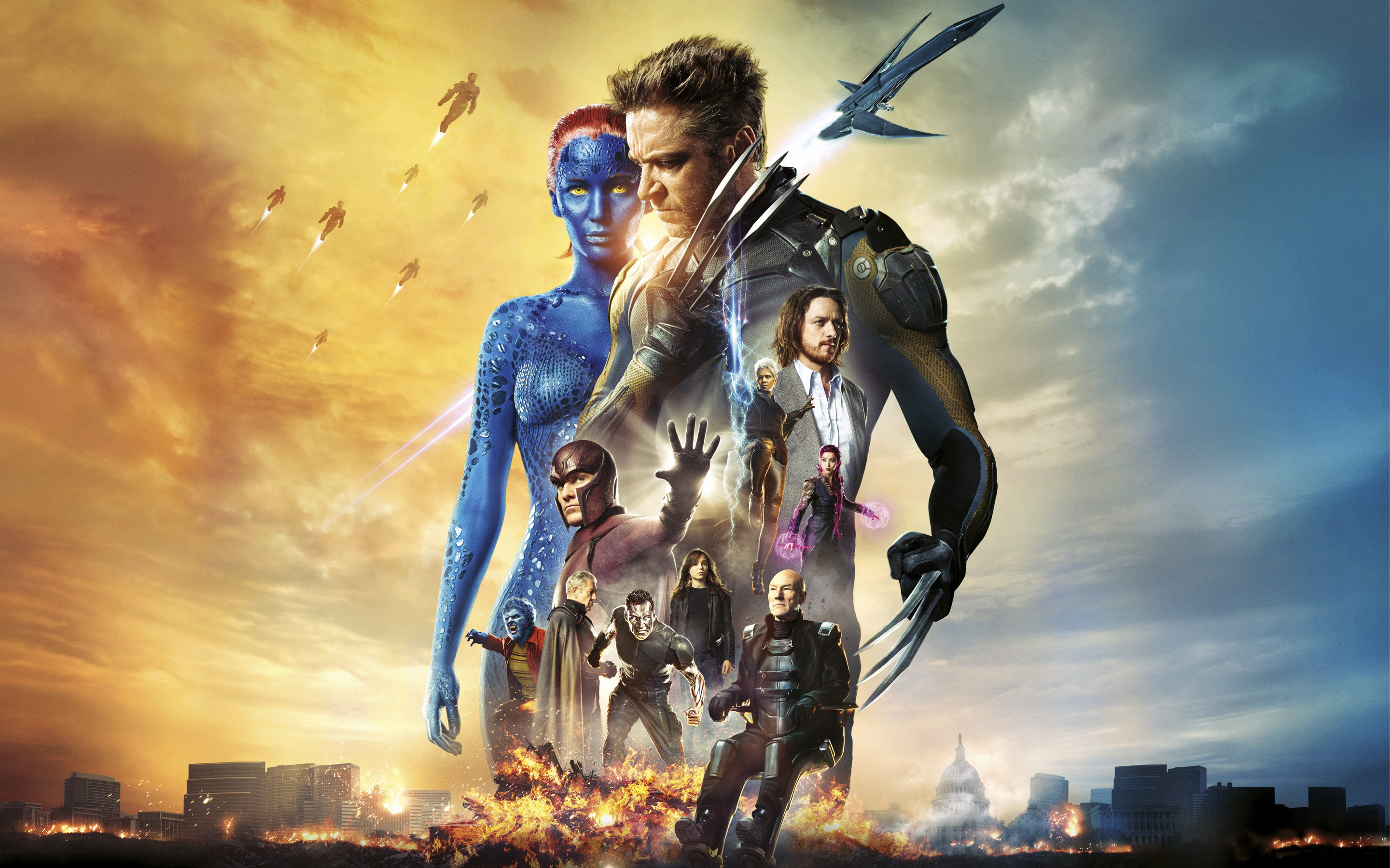 X Men Days of Future Past Movie wallpaper