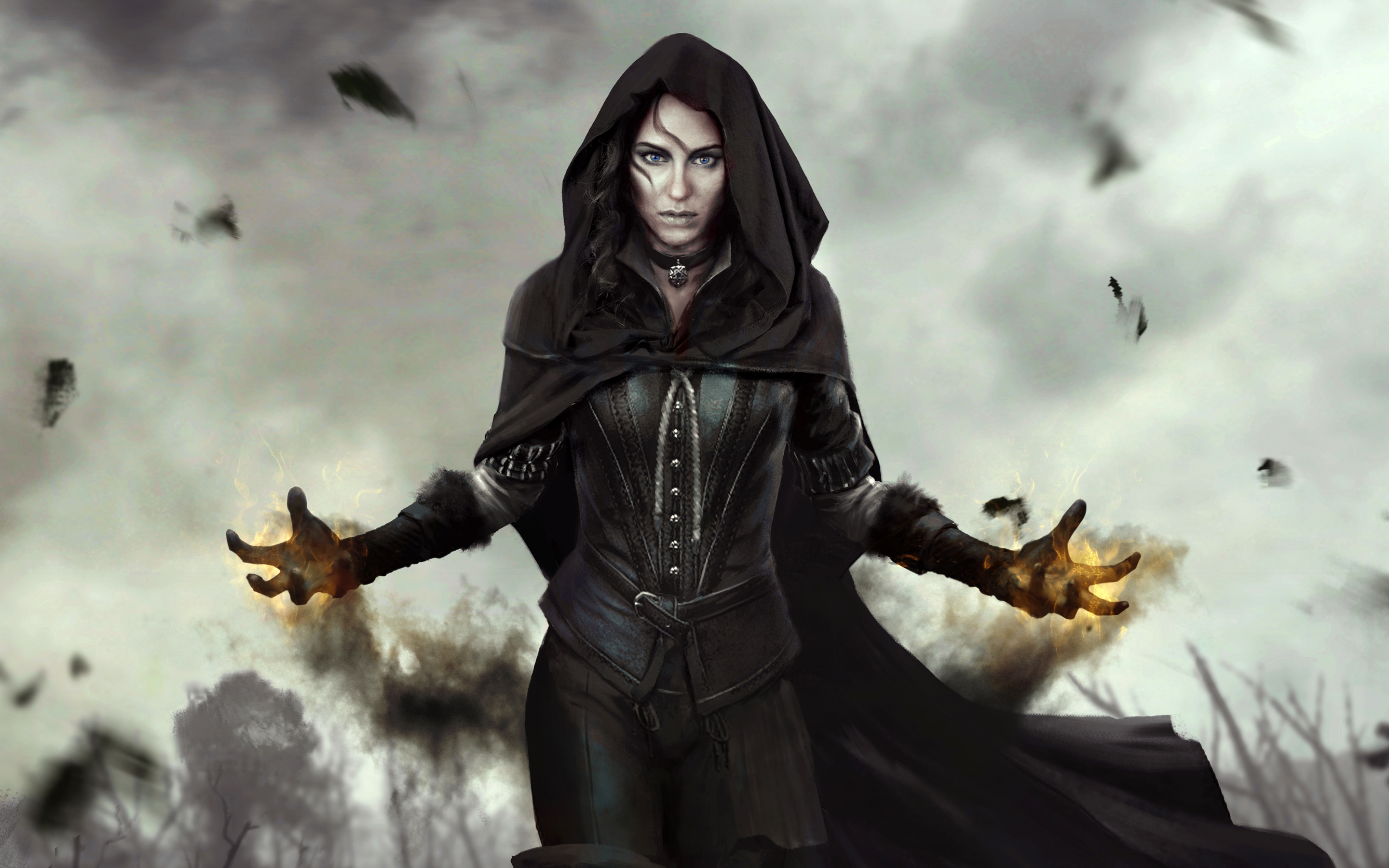 Yennefer The Witcher Wild Hunt Hd Wallpaper