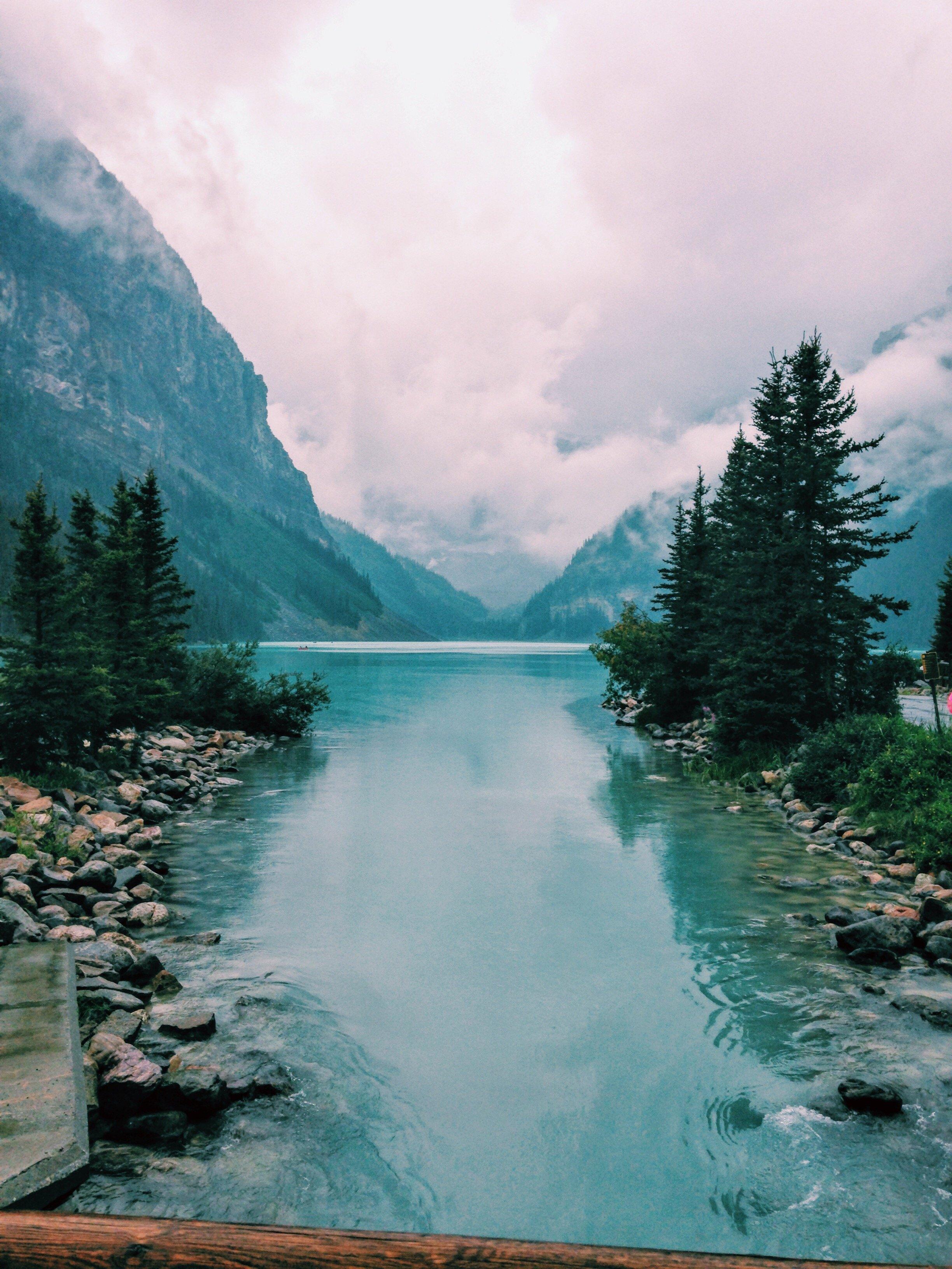 Lake Louise Alberta Canada HD wallpaper