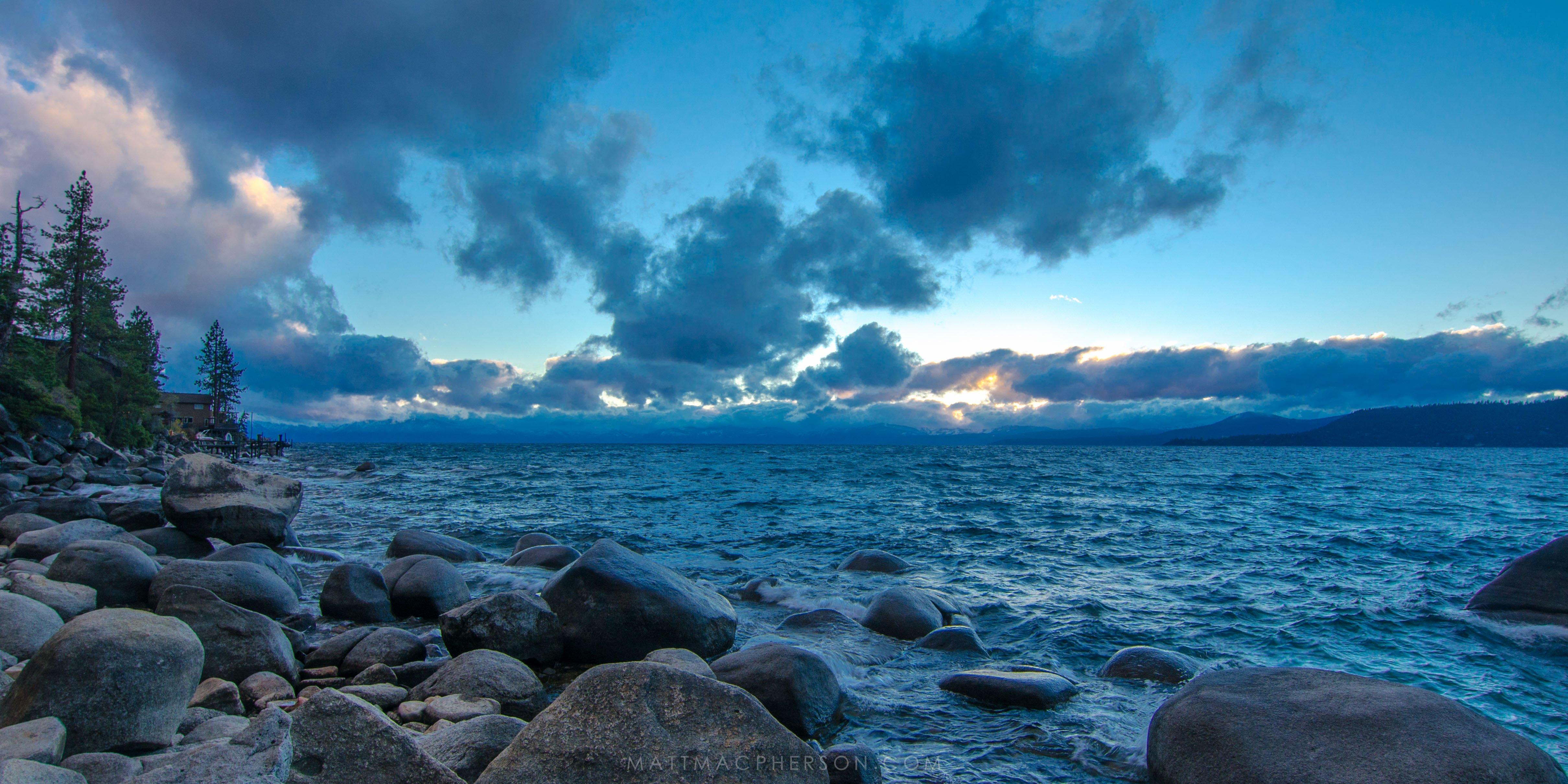 Lake Tahoe Blues 4k Wallpaper