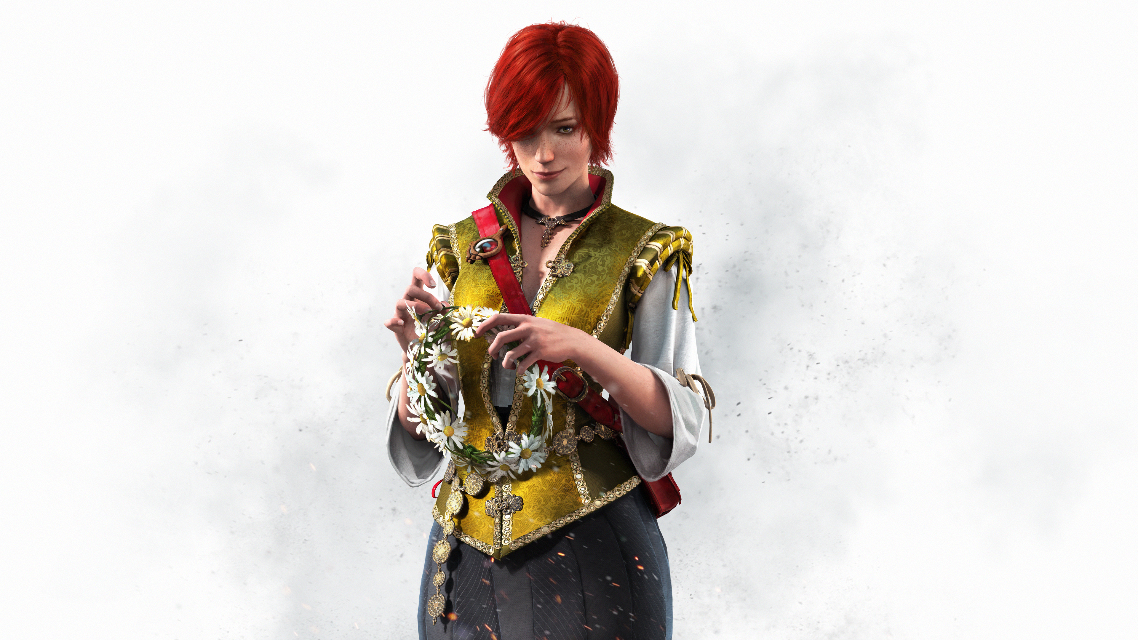 The Witcher Wild Hunt Shani wallpaper