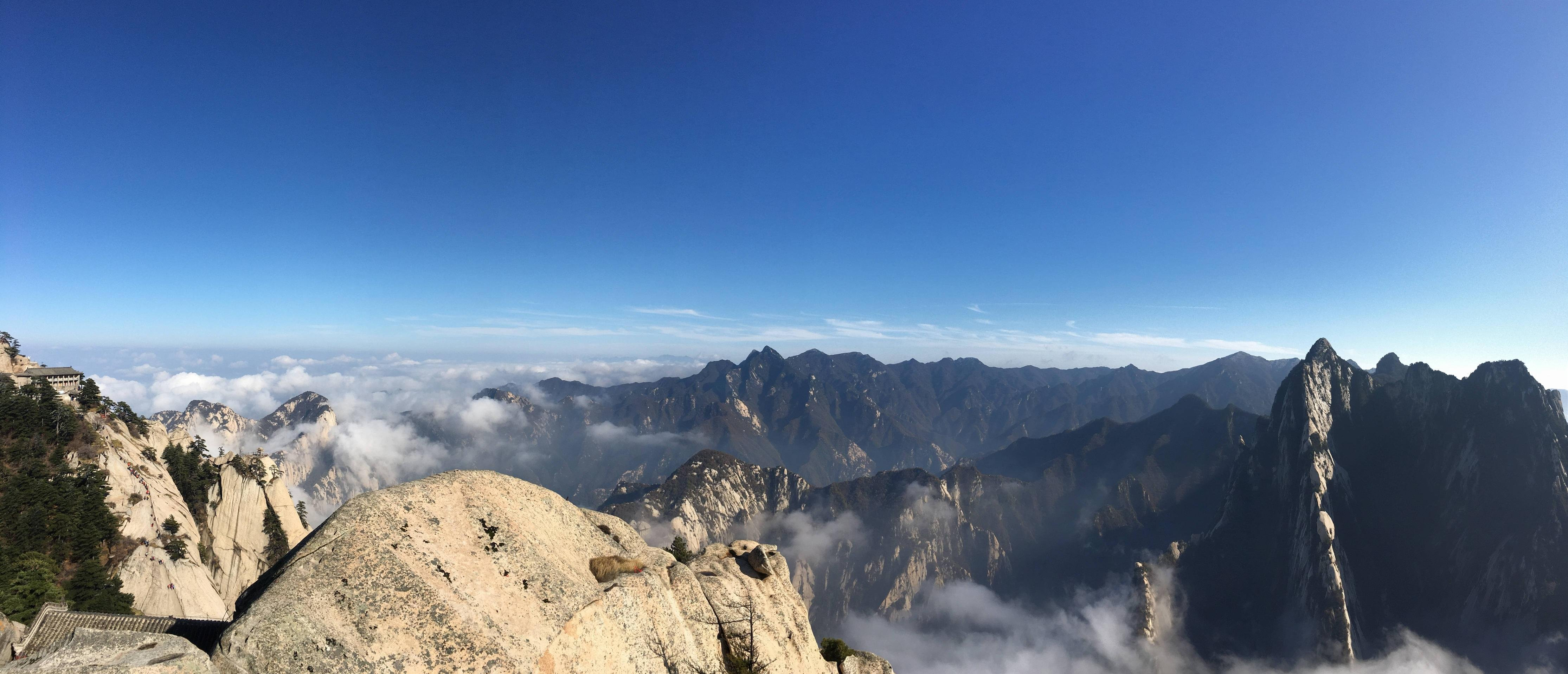 Mount Hua South Peak China wallpaper