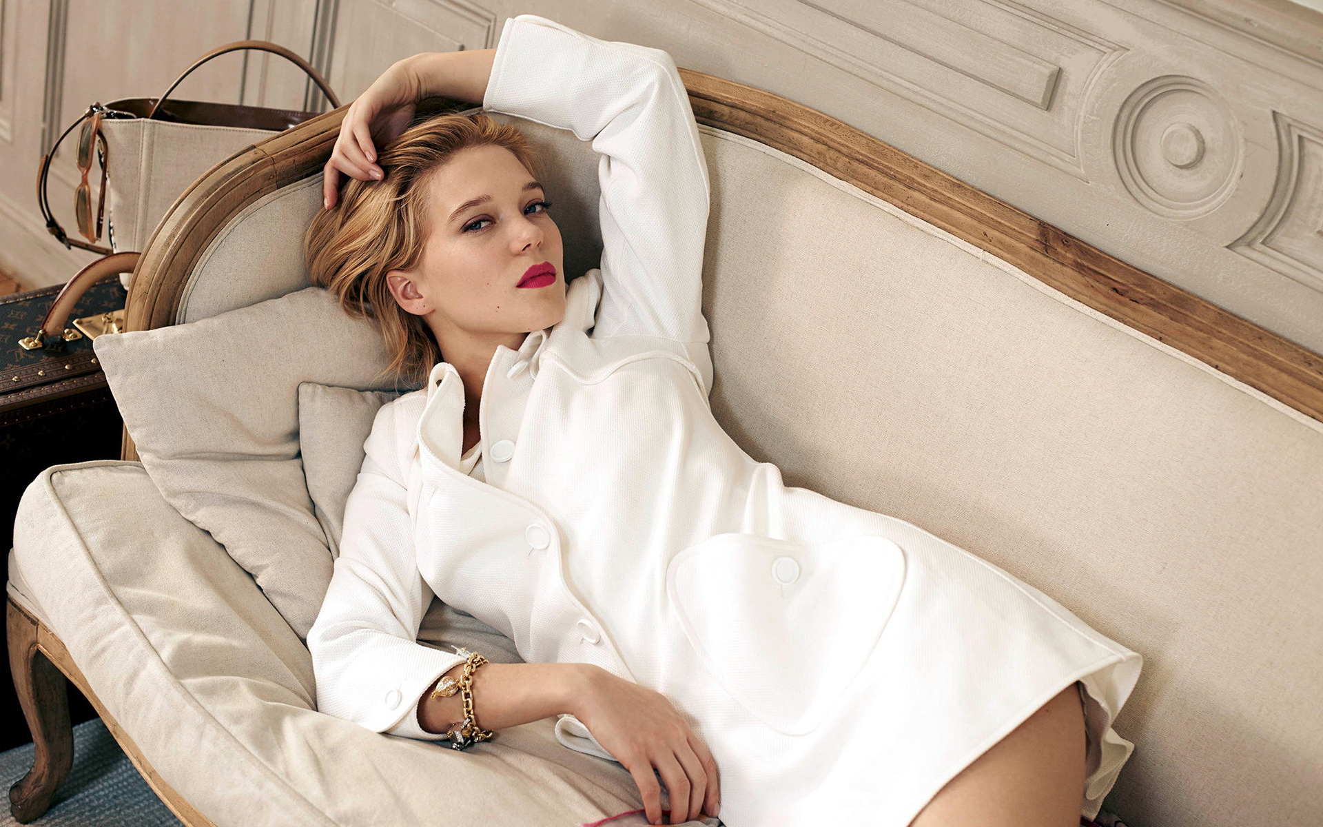 Bond Girl Lea Seydoux wallpaper
