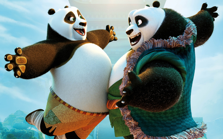 kung fu panda animation hd wallpaper