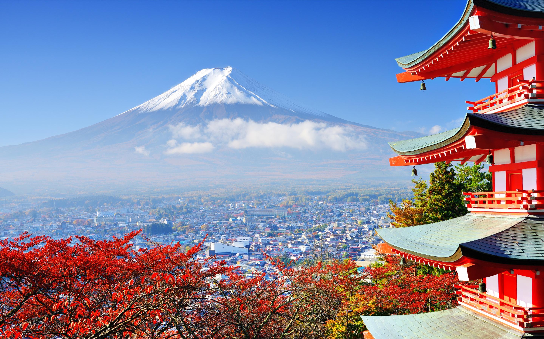 mount fuji japan highest mountain wallpaper